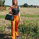 Lofty Manner Trouser Lorita Orange