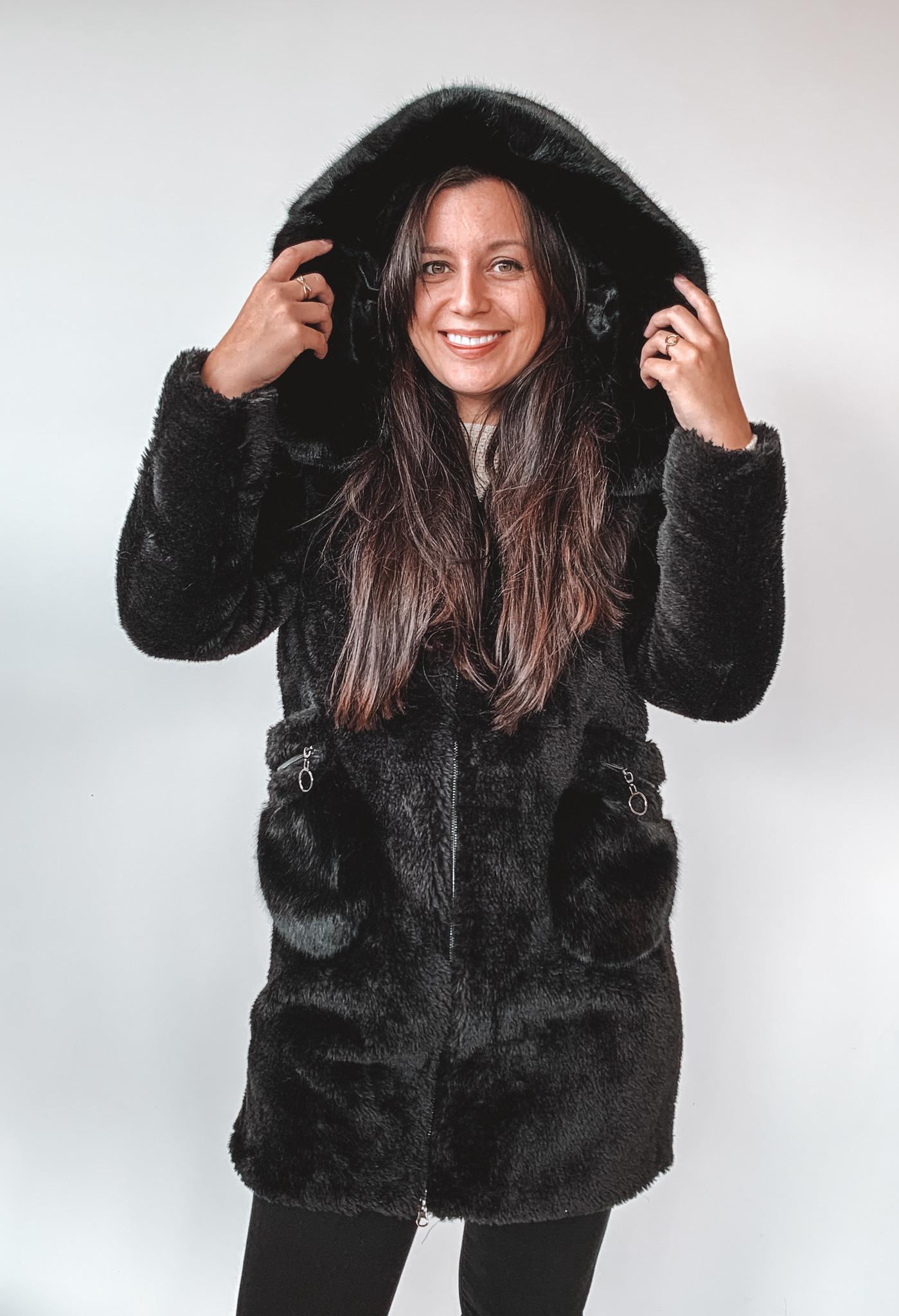 TRENDY.ing Coat Carol Black