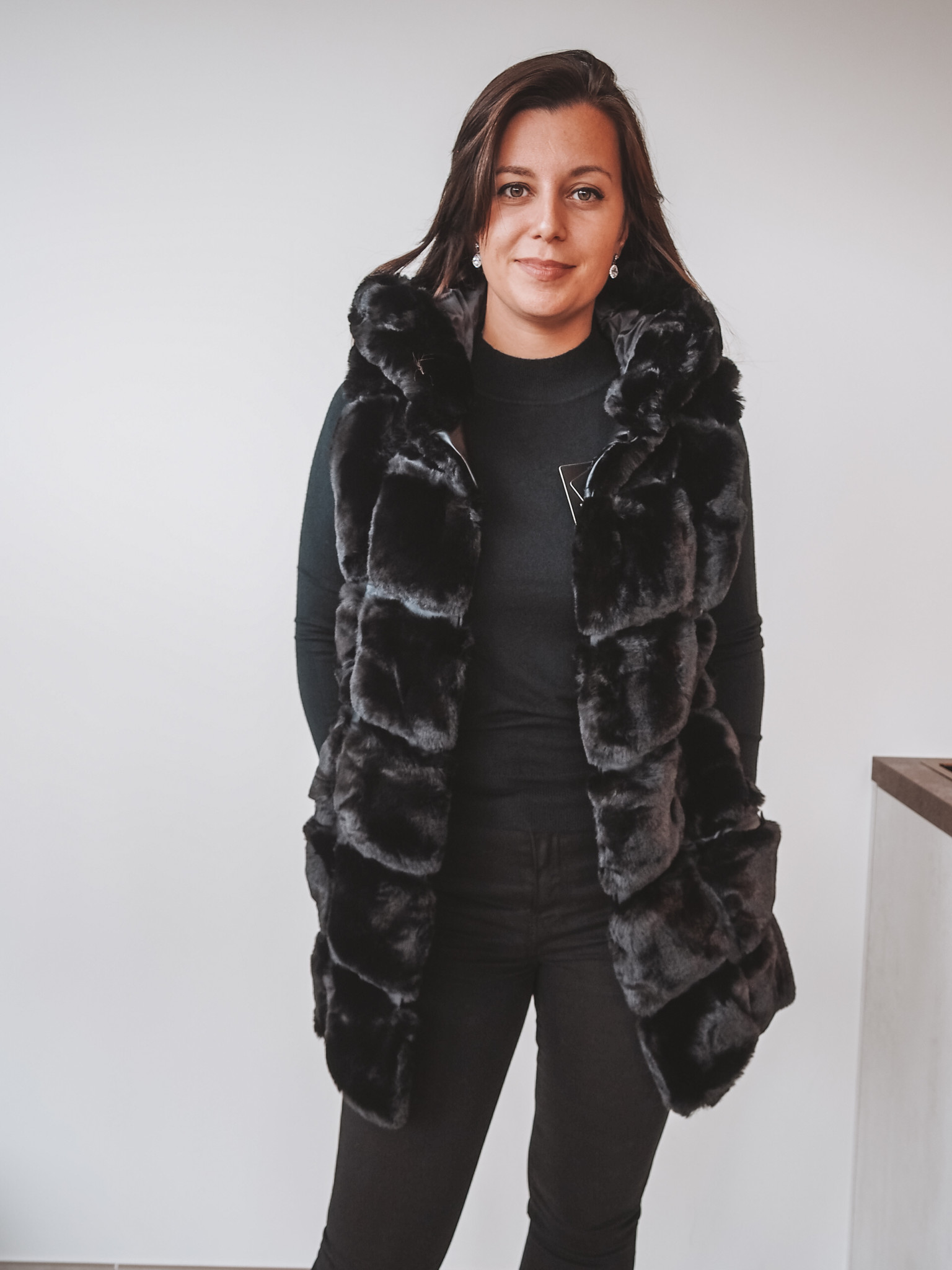 TRENDY.ing Coat Nina Black