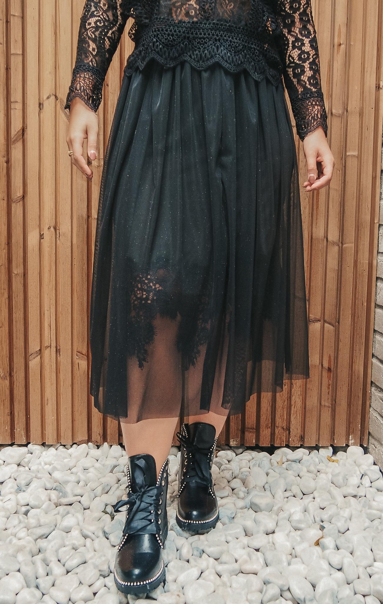 J&D Skirt Ariana Black TU