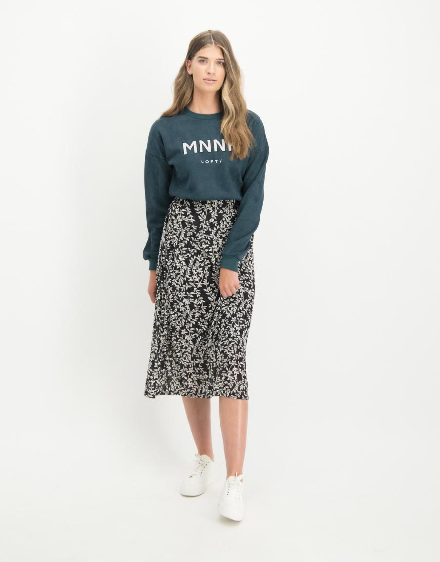 Lofty Manner Sweater Rafaella Green