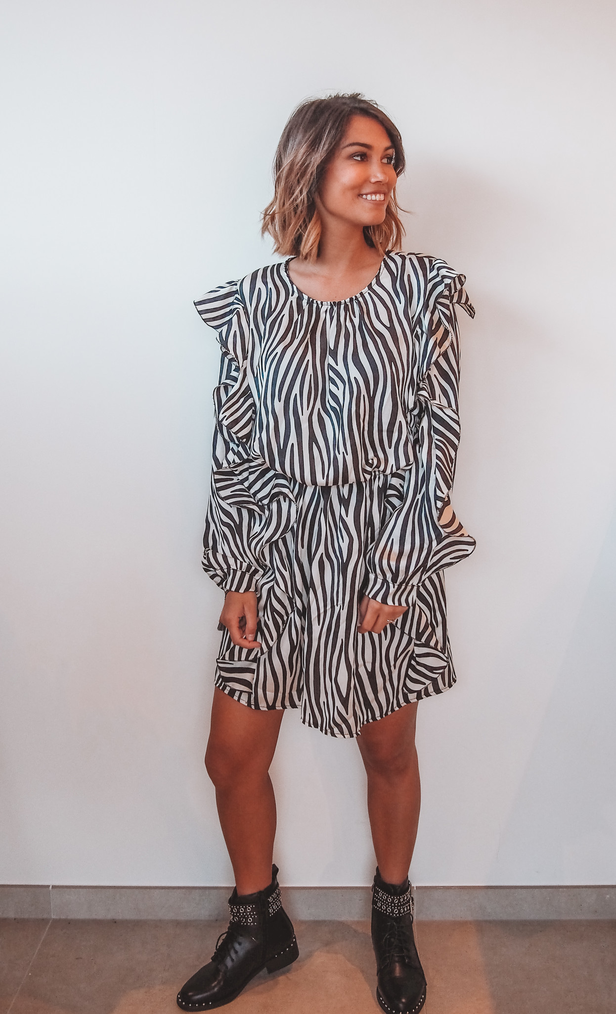 Dress Zebra Frill TU