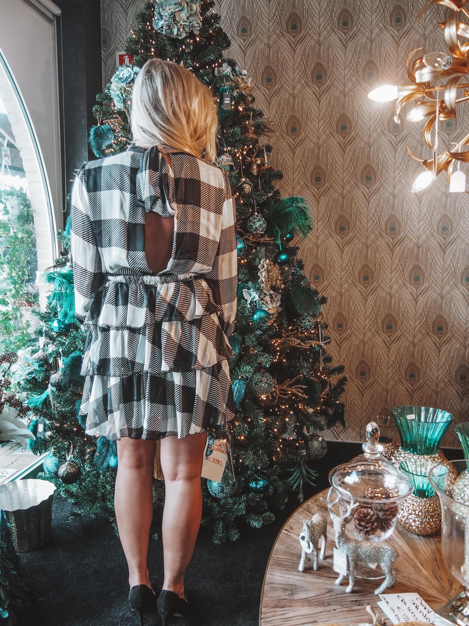 Dress Myriam White/Black TU
