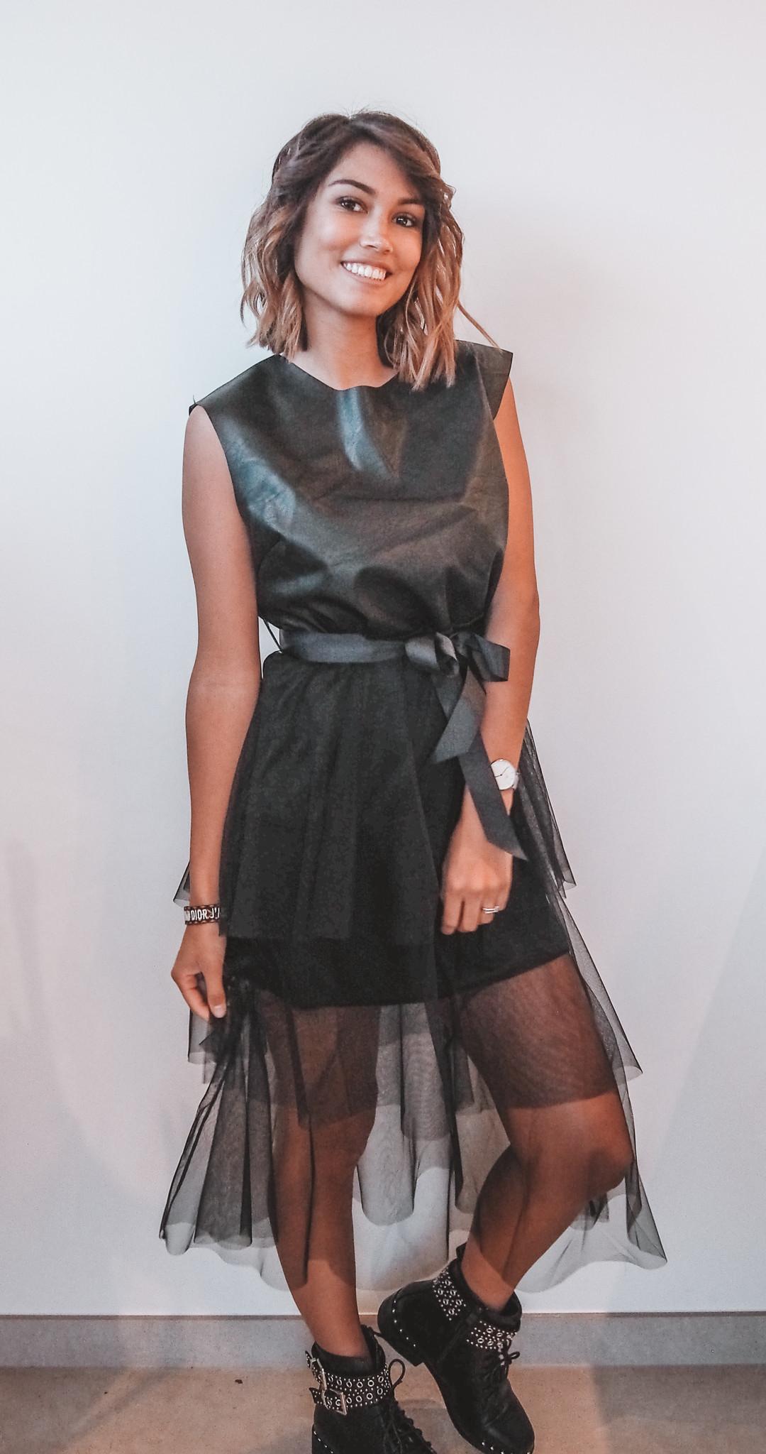 Leather Dress Black TU
