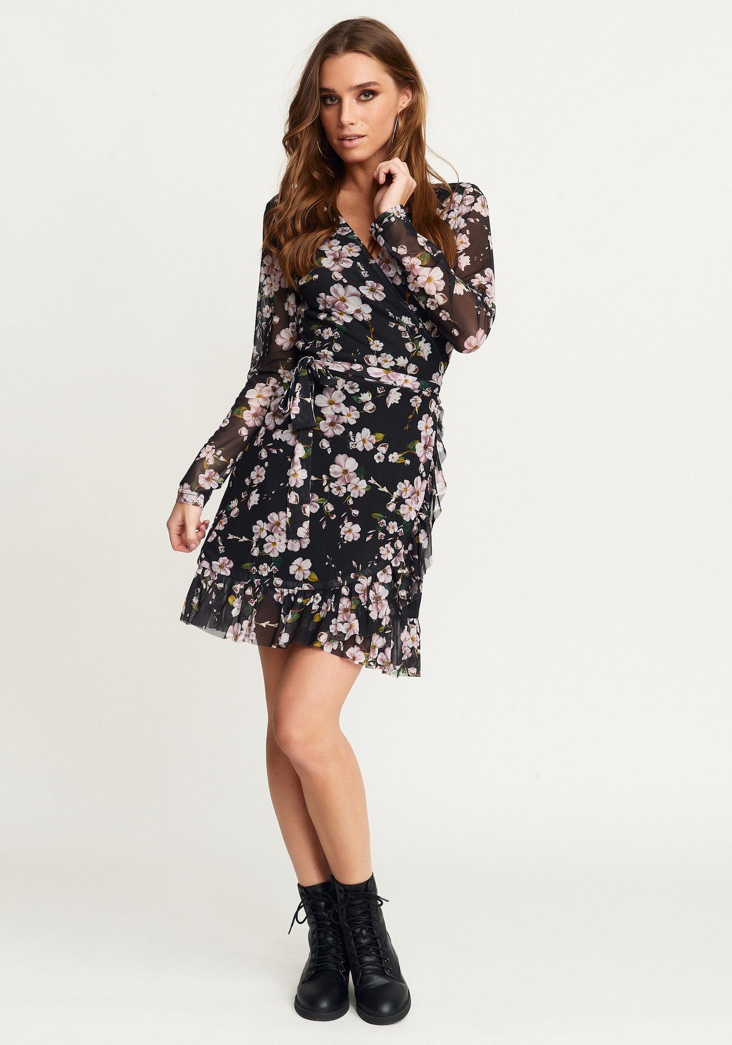 zia wrap dress