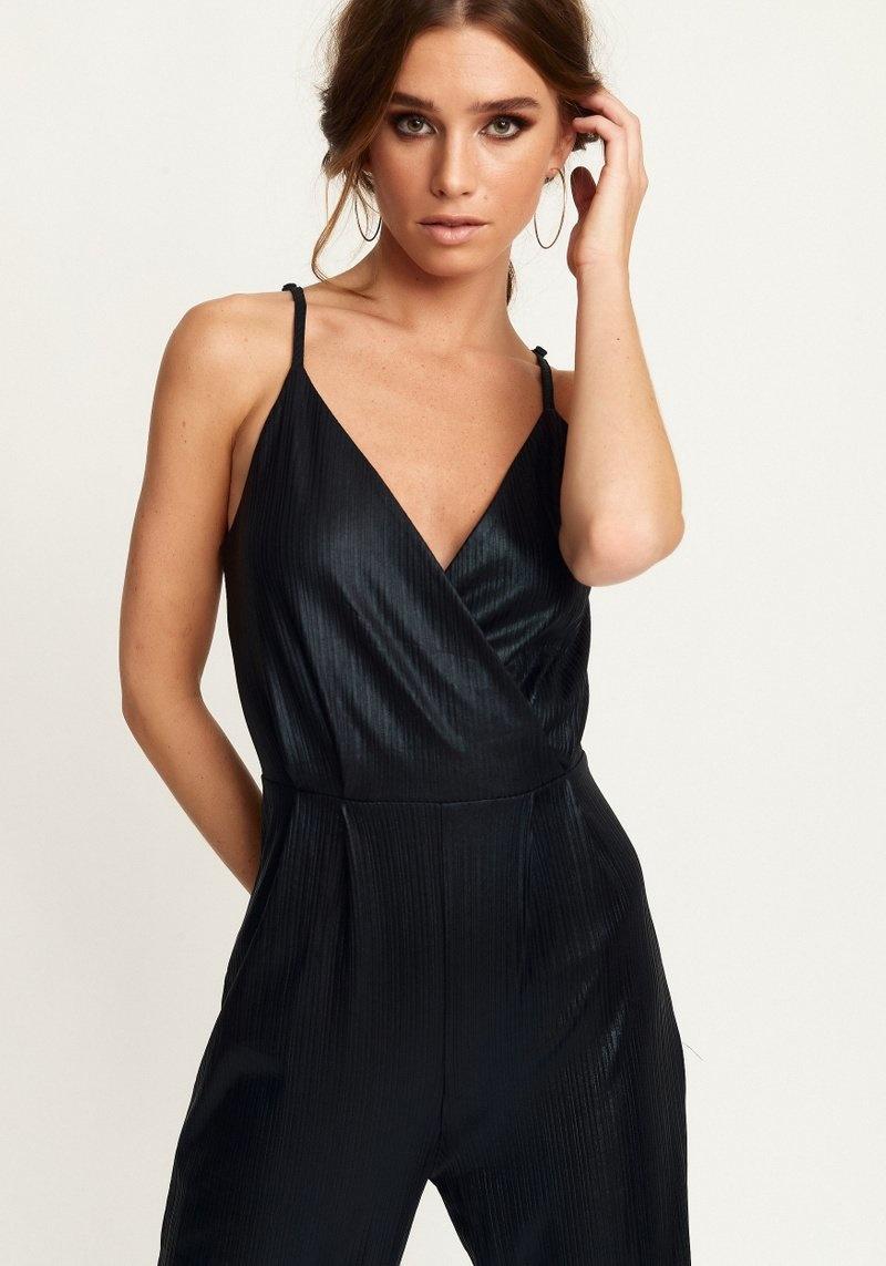Rut&Circle zwarte jumpsuit chic