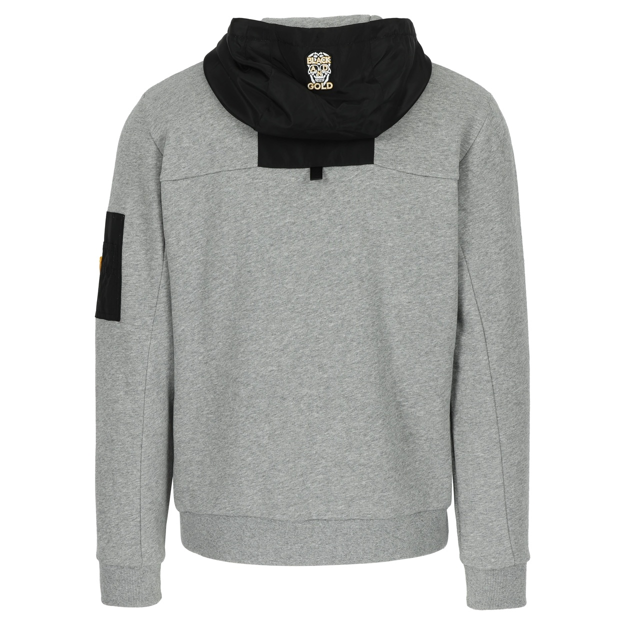 Black&Gold Satinos Grey Melange