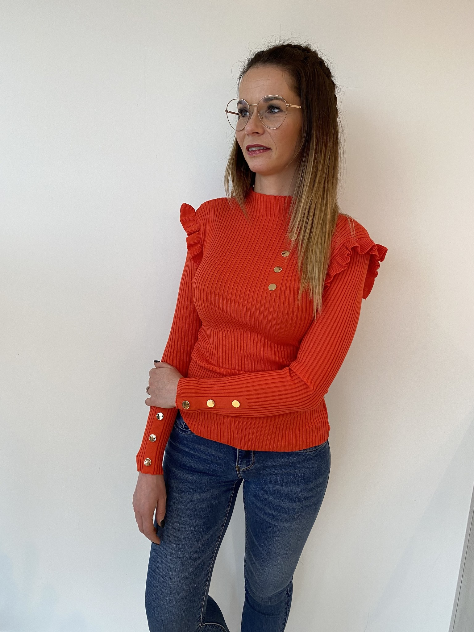 Pull Chiara Red