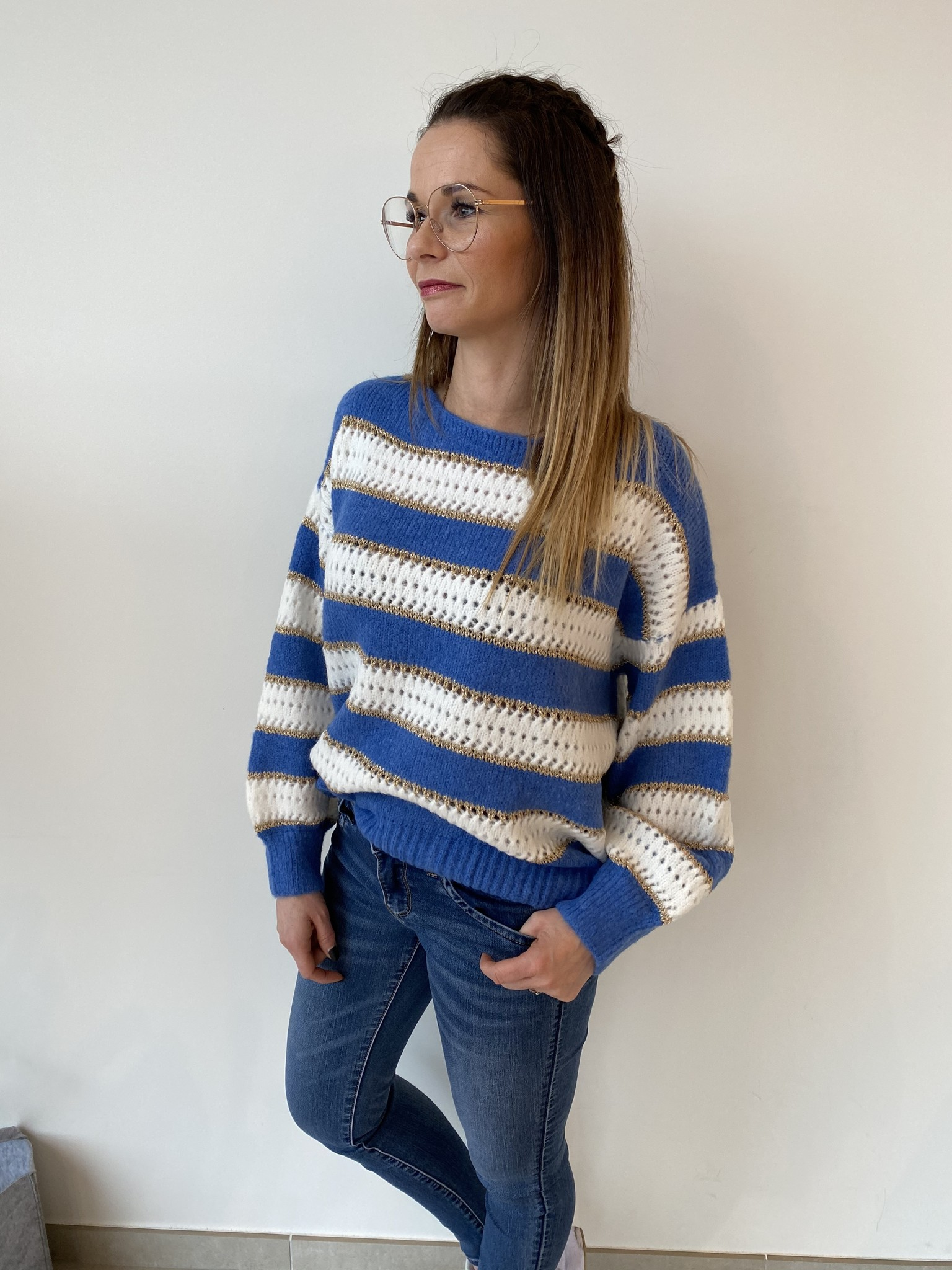 Pull Noor Jeansblue