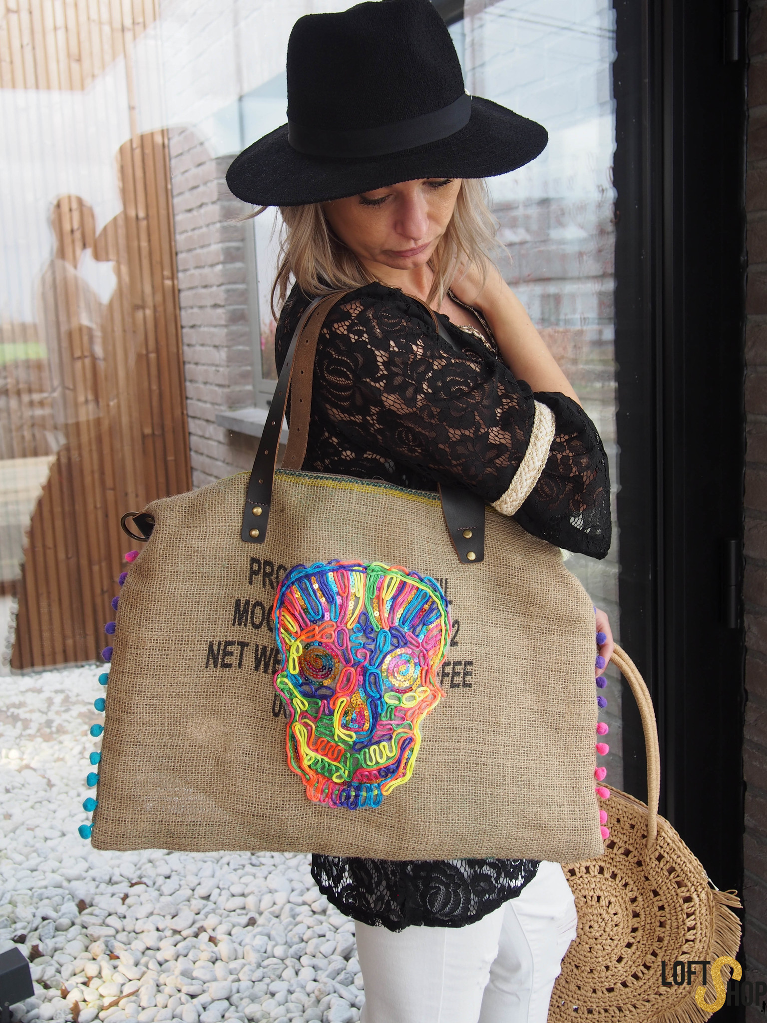 Beachbag jute