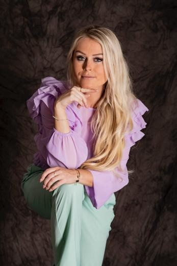 Blouse Emmy Frill Lilac