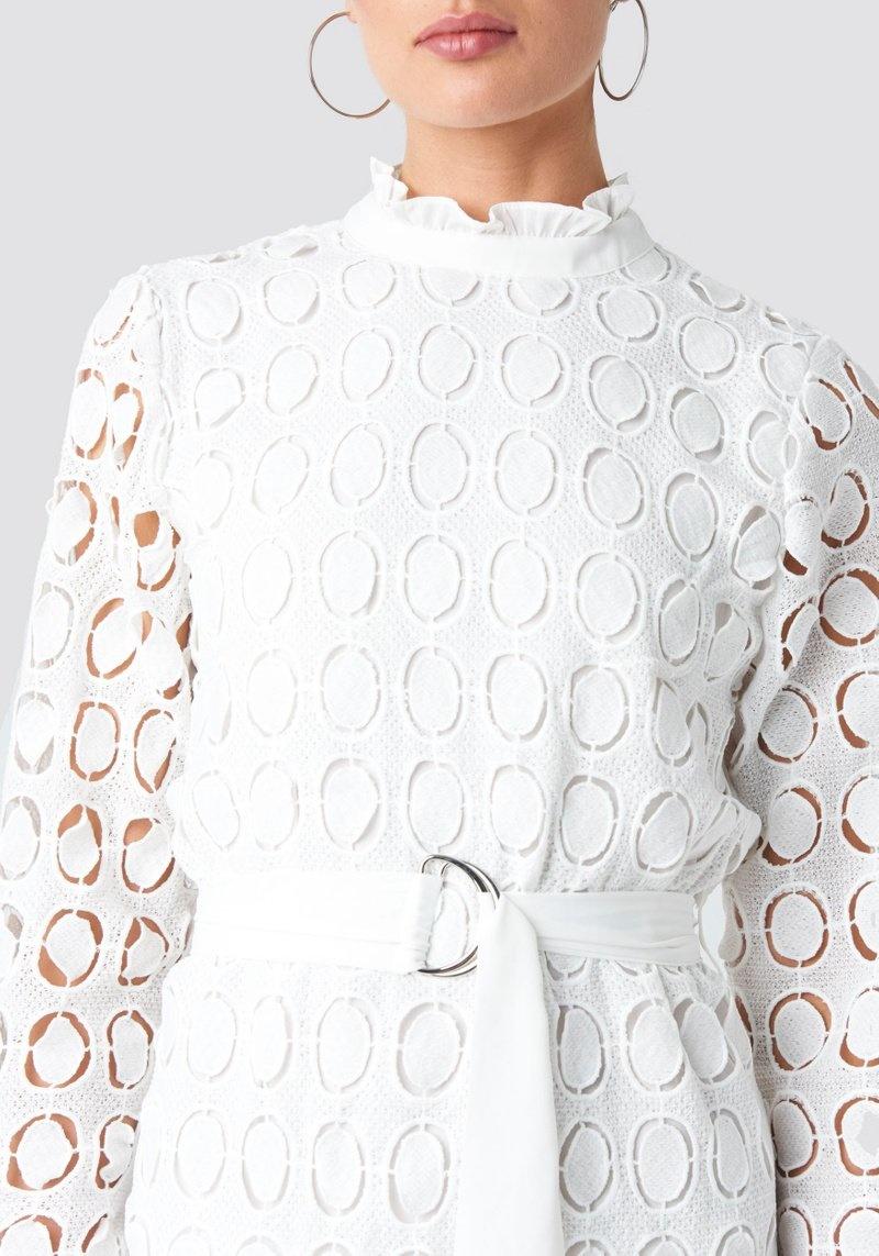 Nadja Dress White