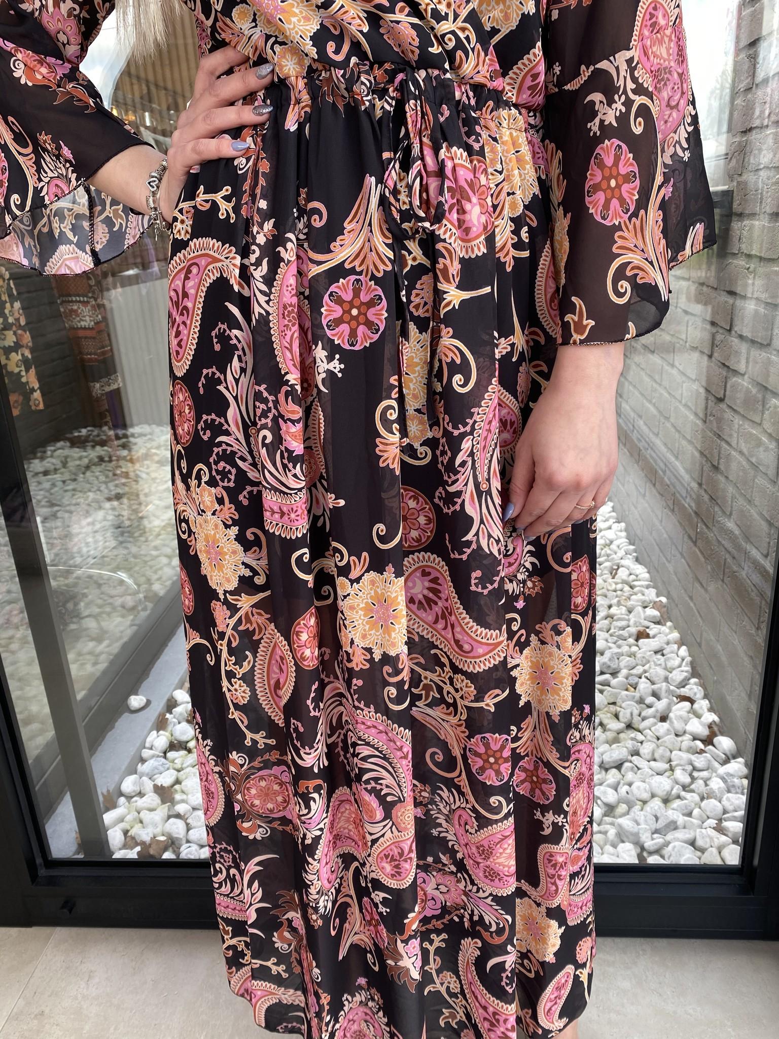 Dress Susan black/pink TU