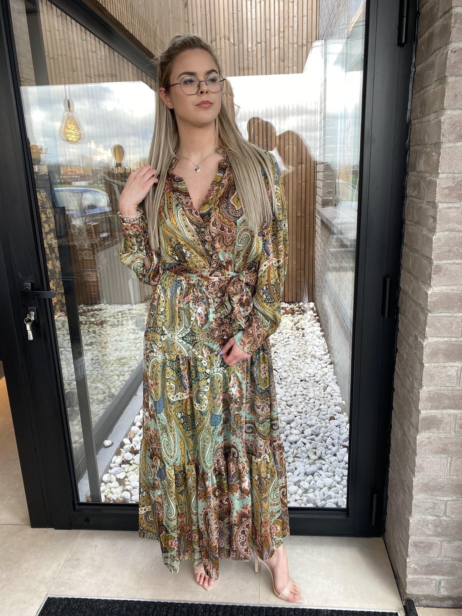 Dress Elesta long green TU