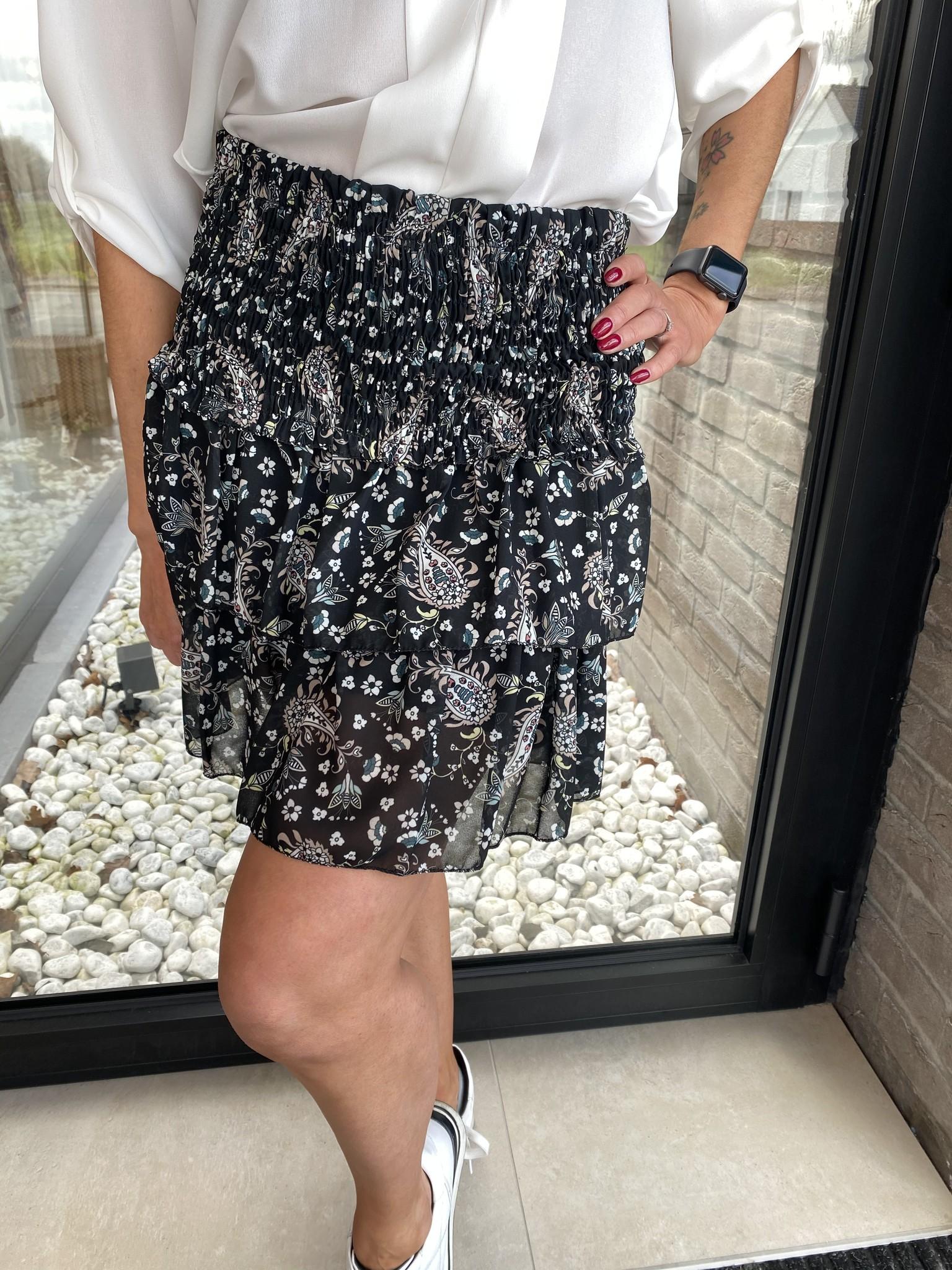 Skirt Gonna Black TU