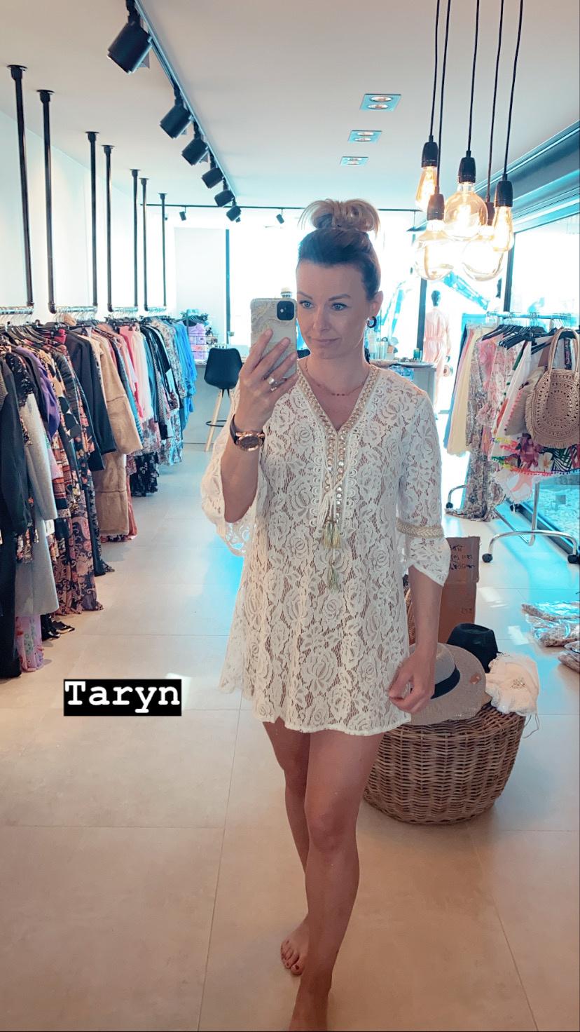Blouse Bohemian White Taryn
