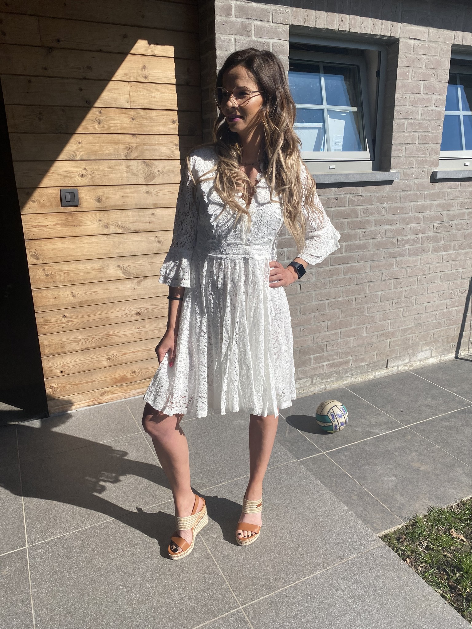 Dress Mikky white
