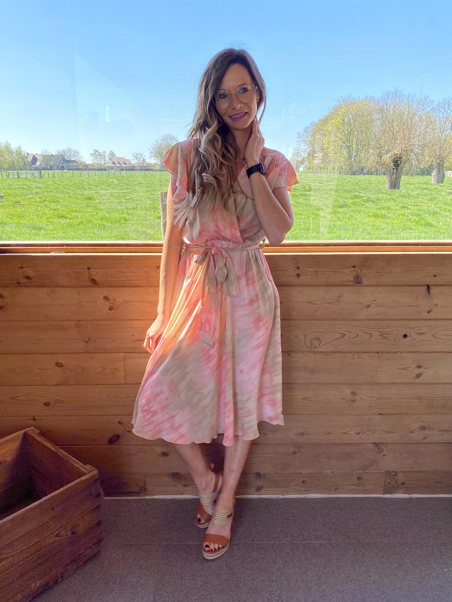 Dress Kirsten Pink