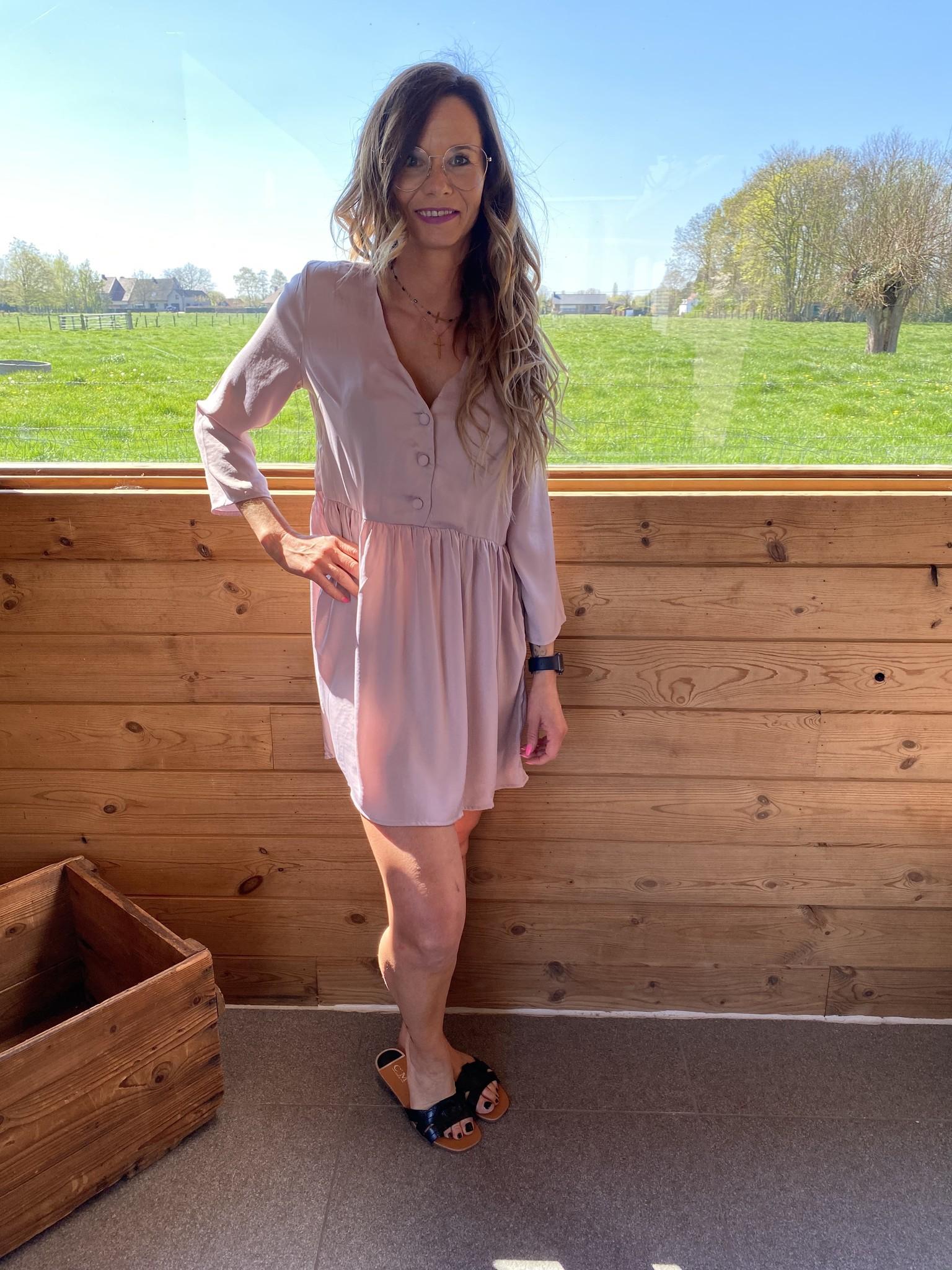 Dress Kourtney Purple