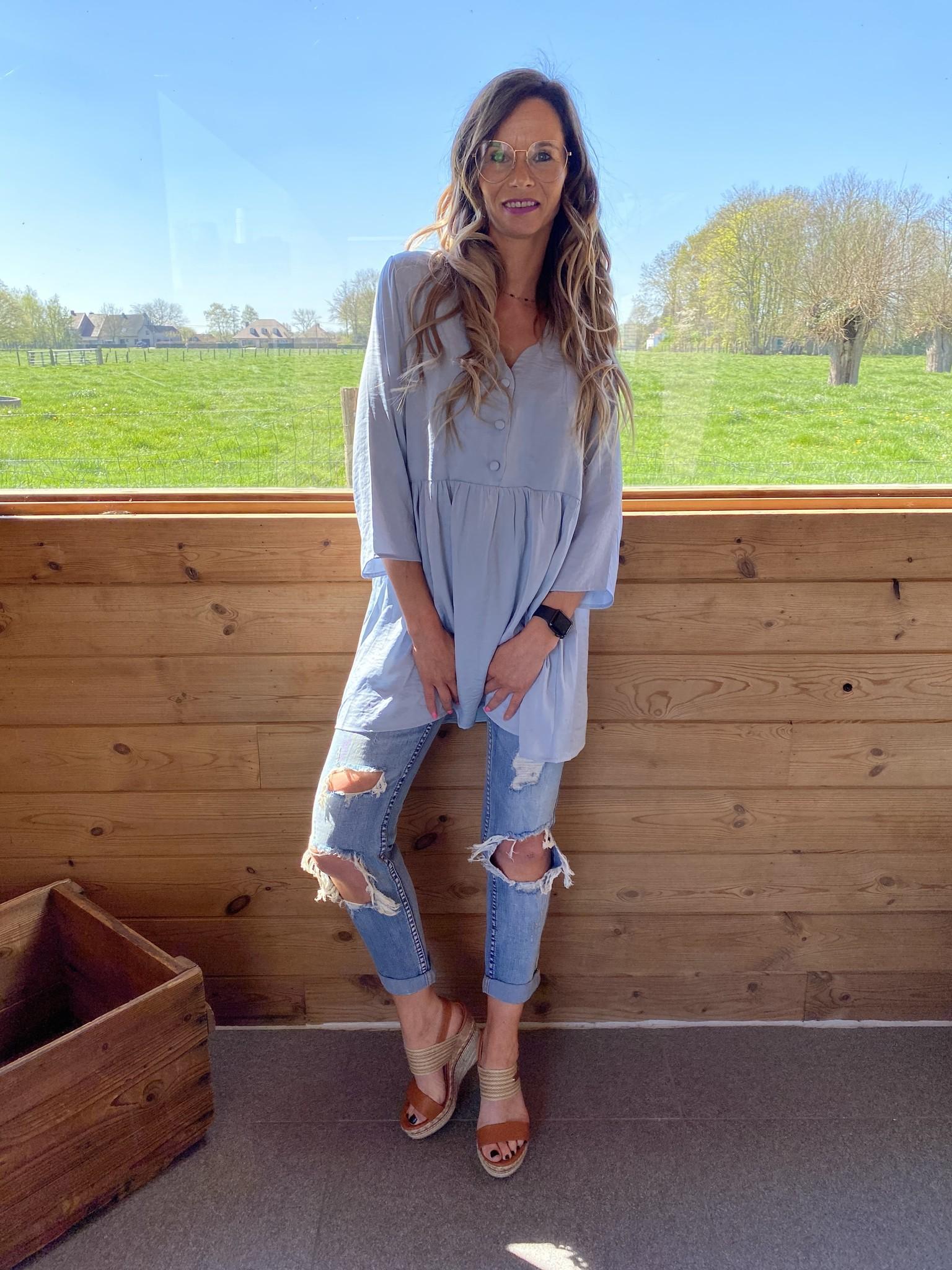 Dress Kourtney blue