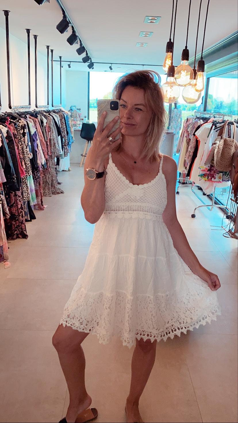 Dress Eline White