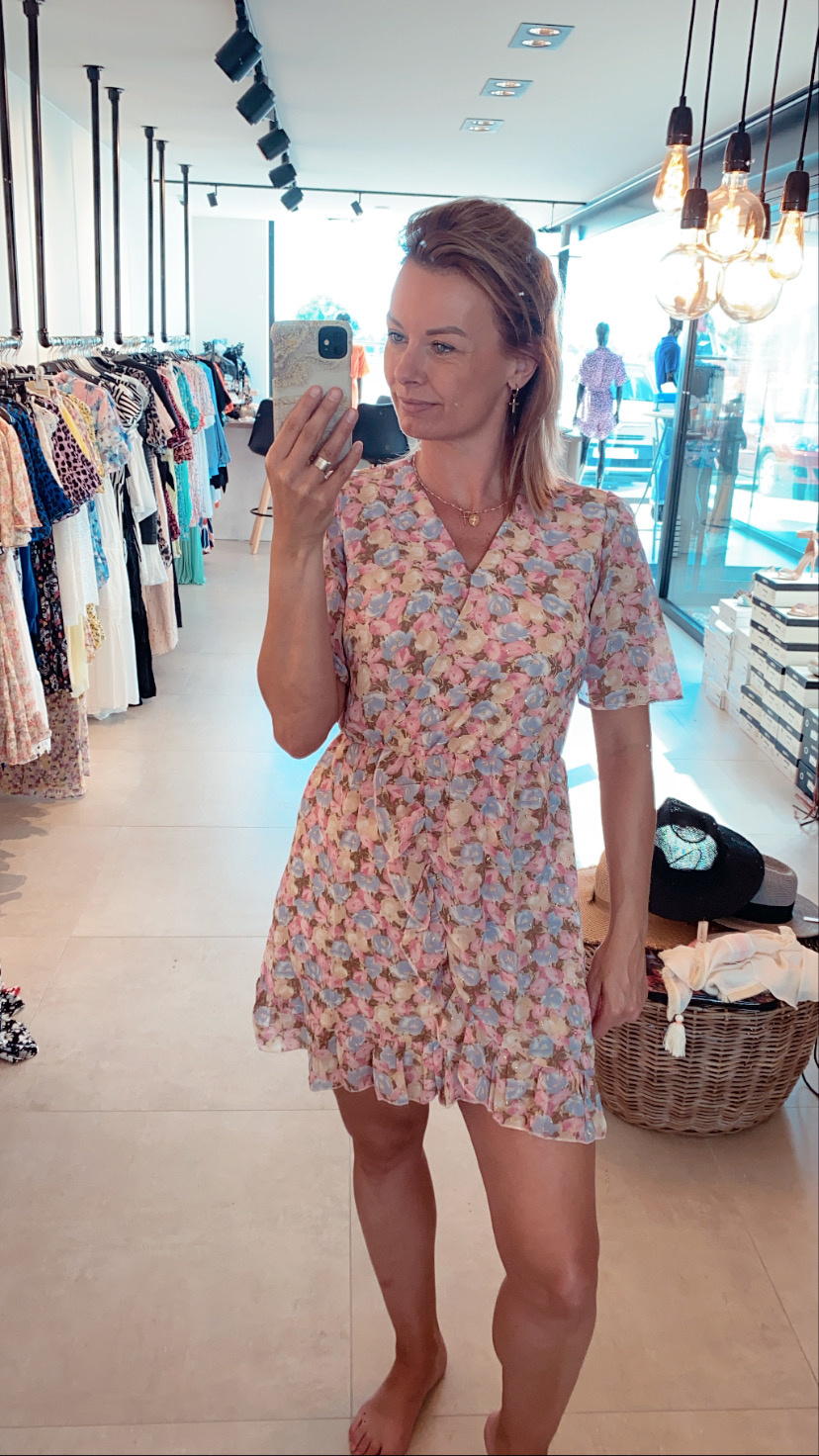 Dress Zara pastel flowers