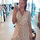 Dress Zara pink/white flowers