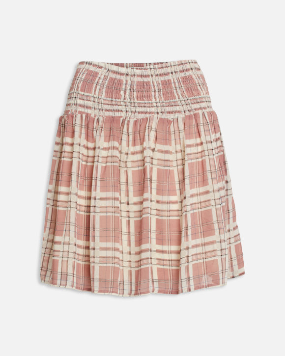 Skirt Vora Rose Check.