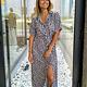 Dress Yana Leopard B/W TU