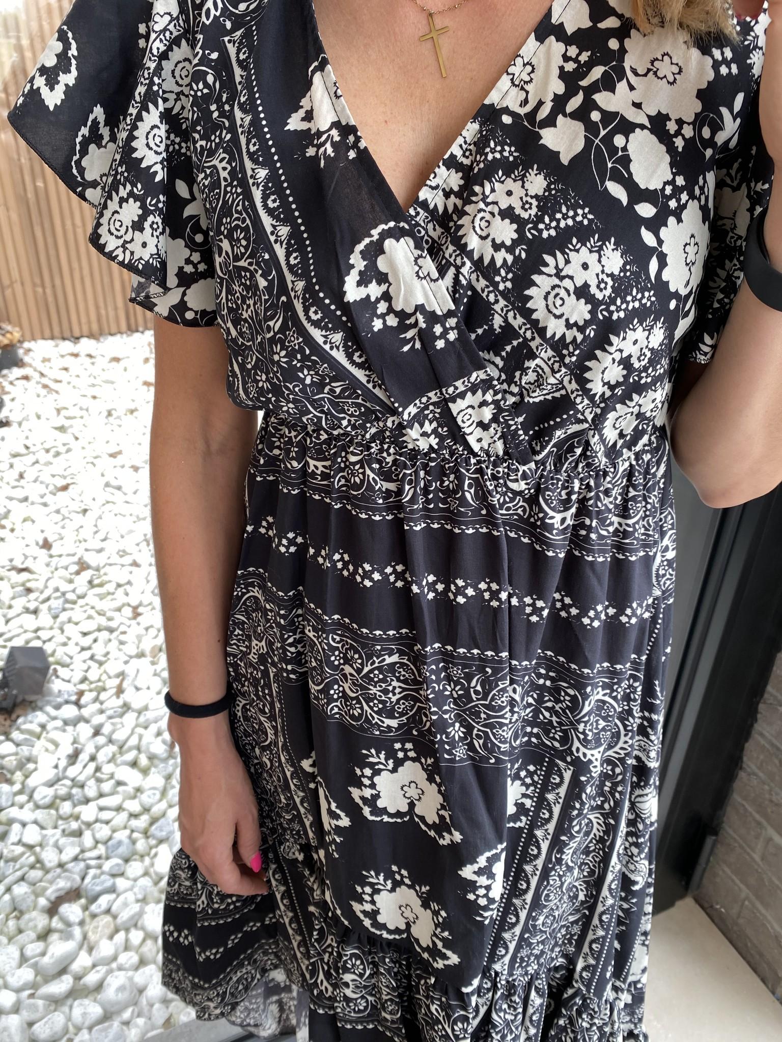Dress Suzette long black.