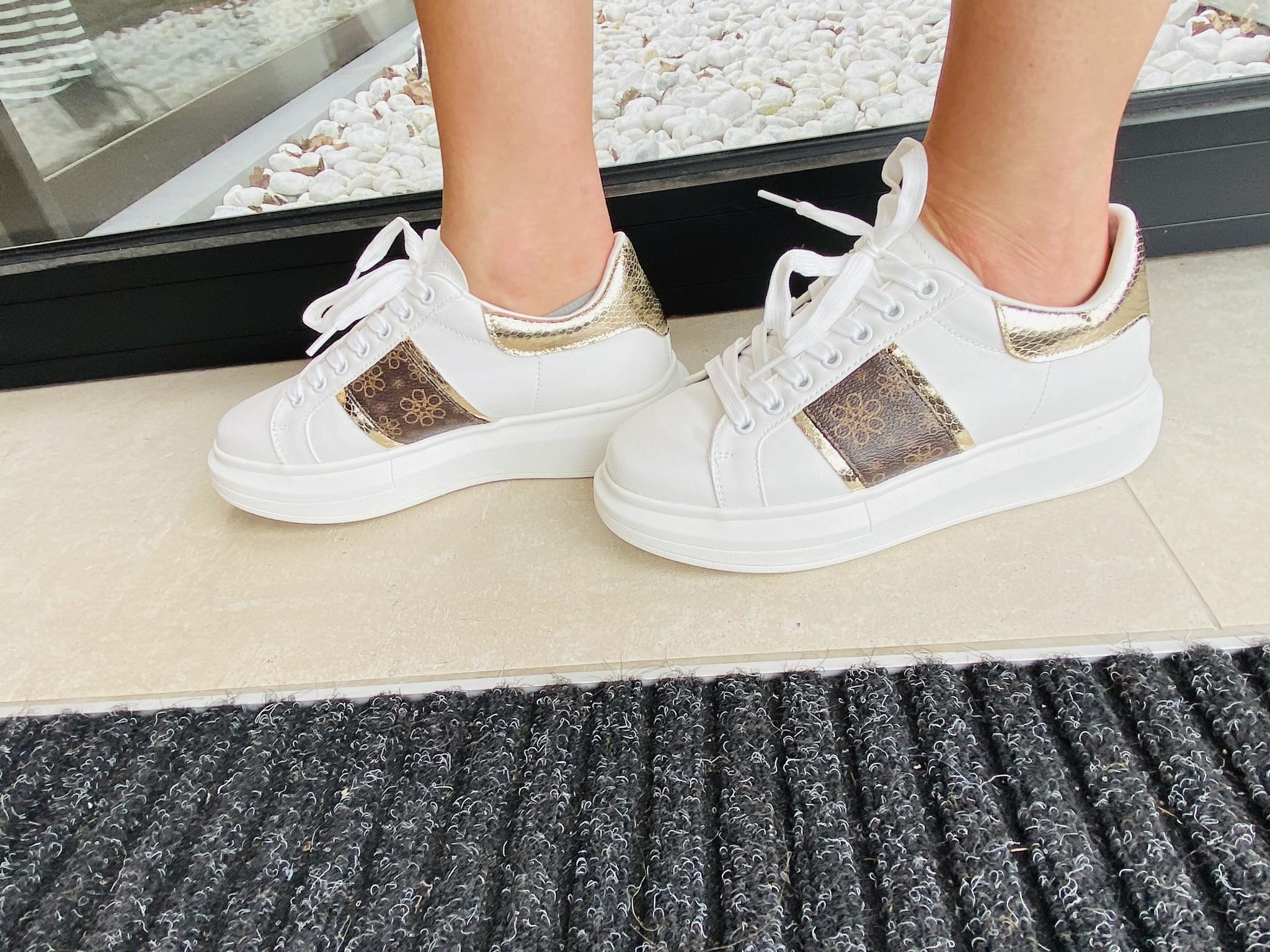 sneaker Louis gold