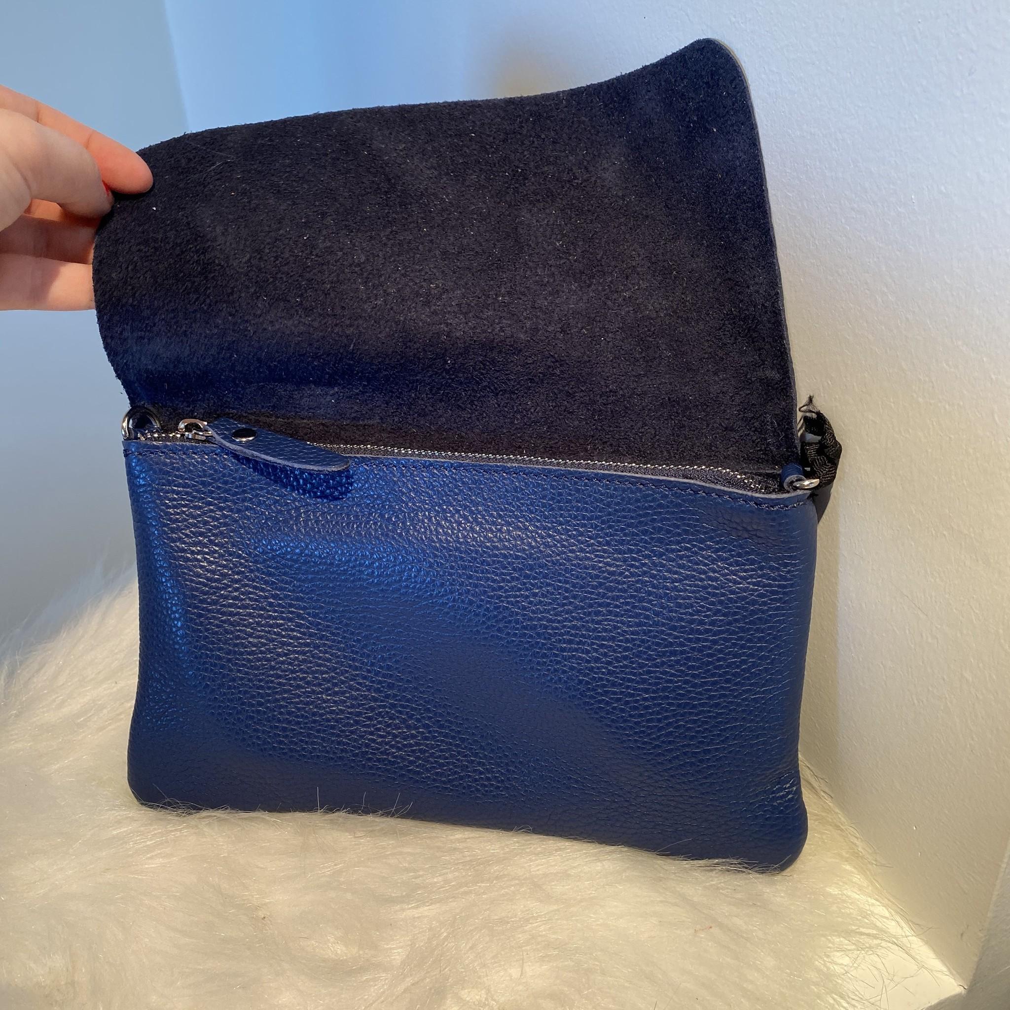 Pochette mini sally navy blue