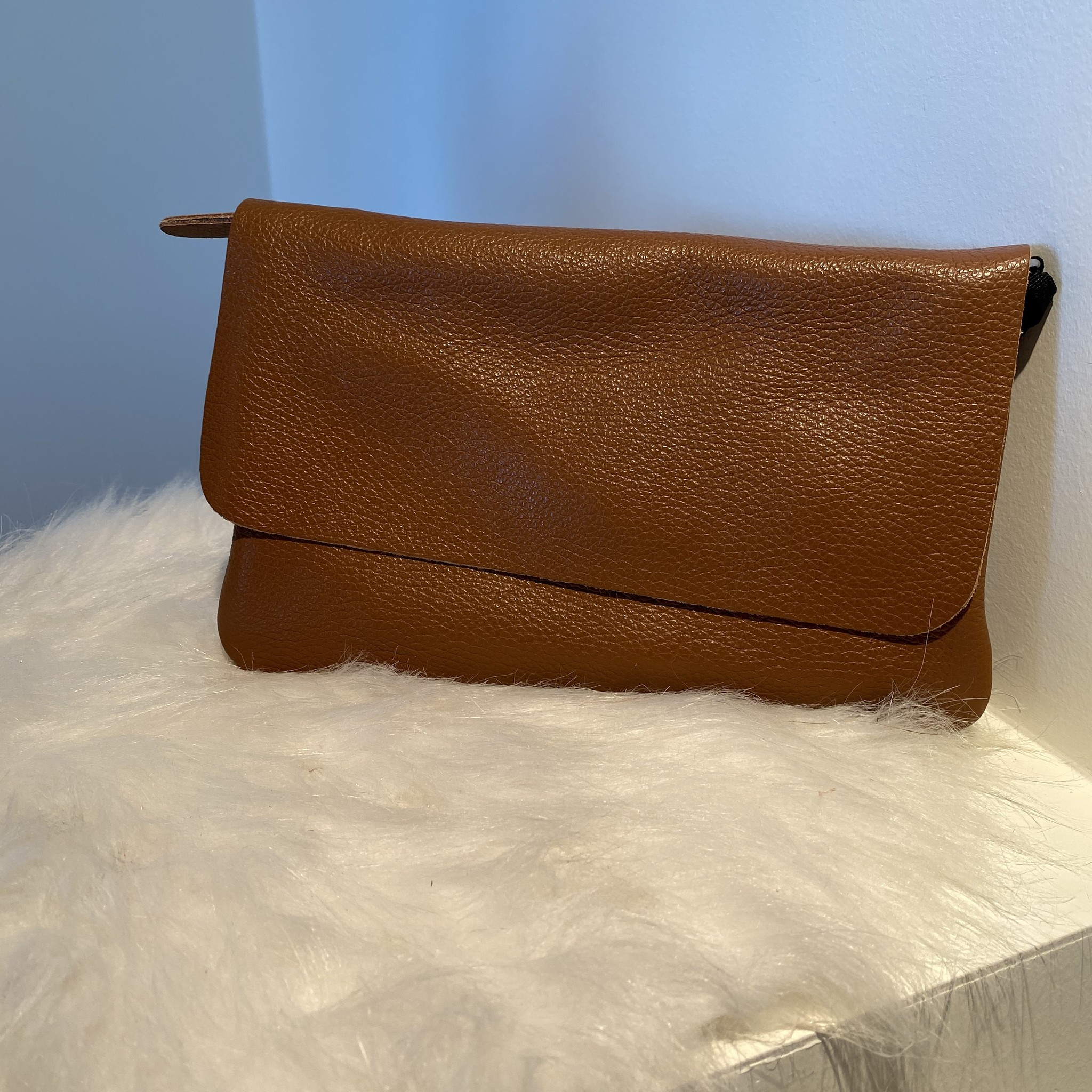 Pochette mini sally camel