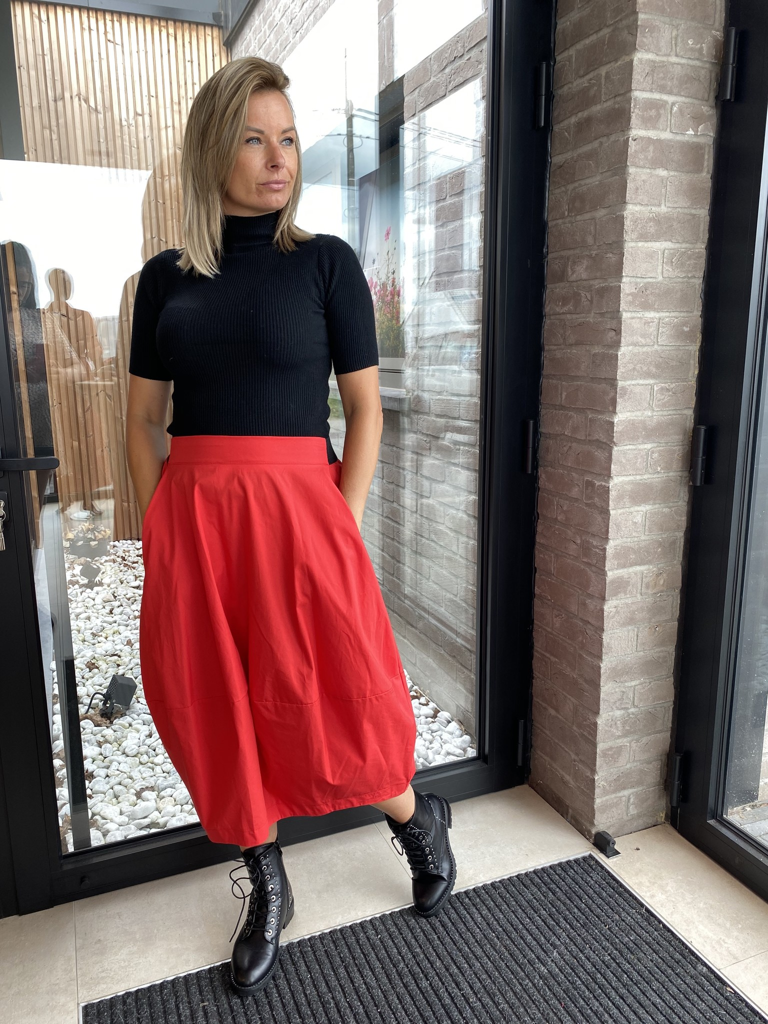 Skirt Gaelle Red TU