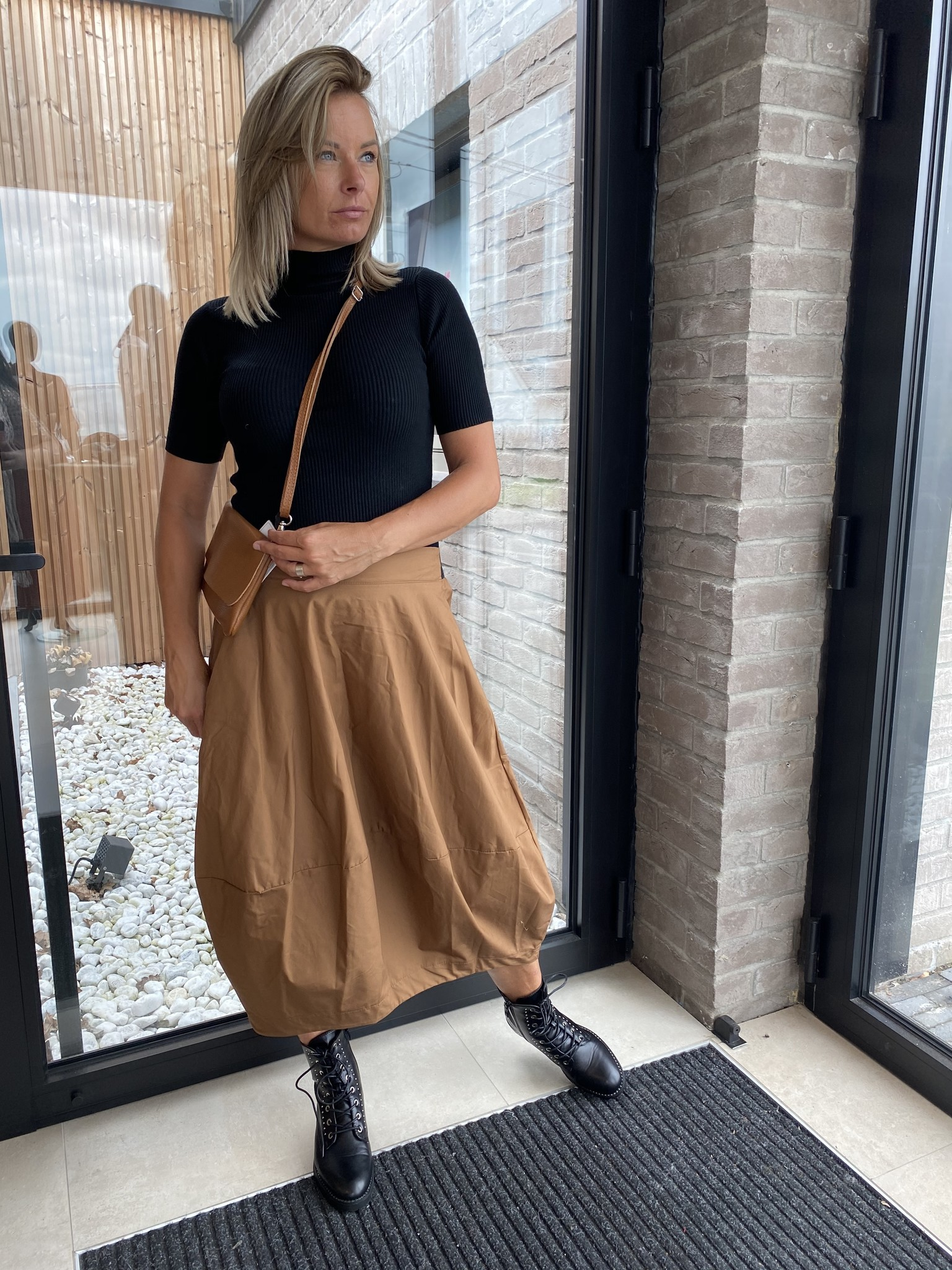Skirt Gaelle Cognac TU