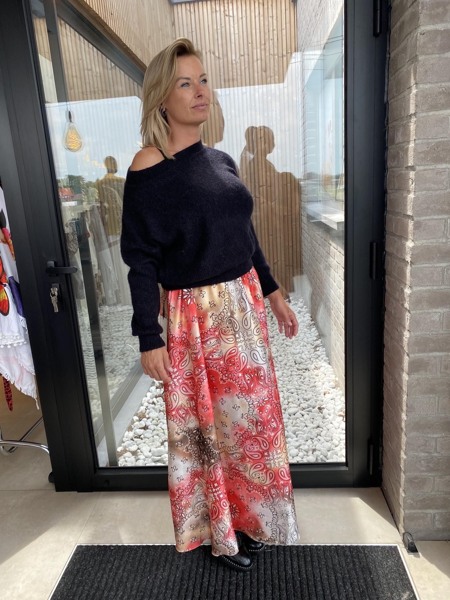 Skirt Bandana Corail/oker.