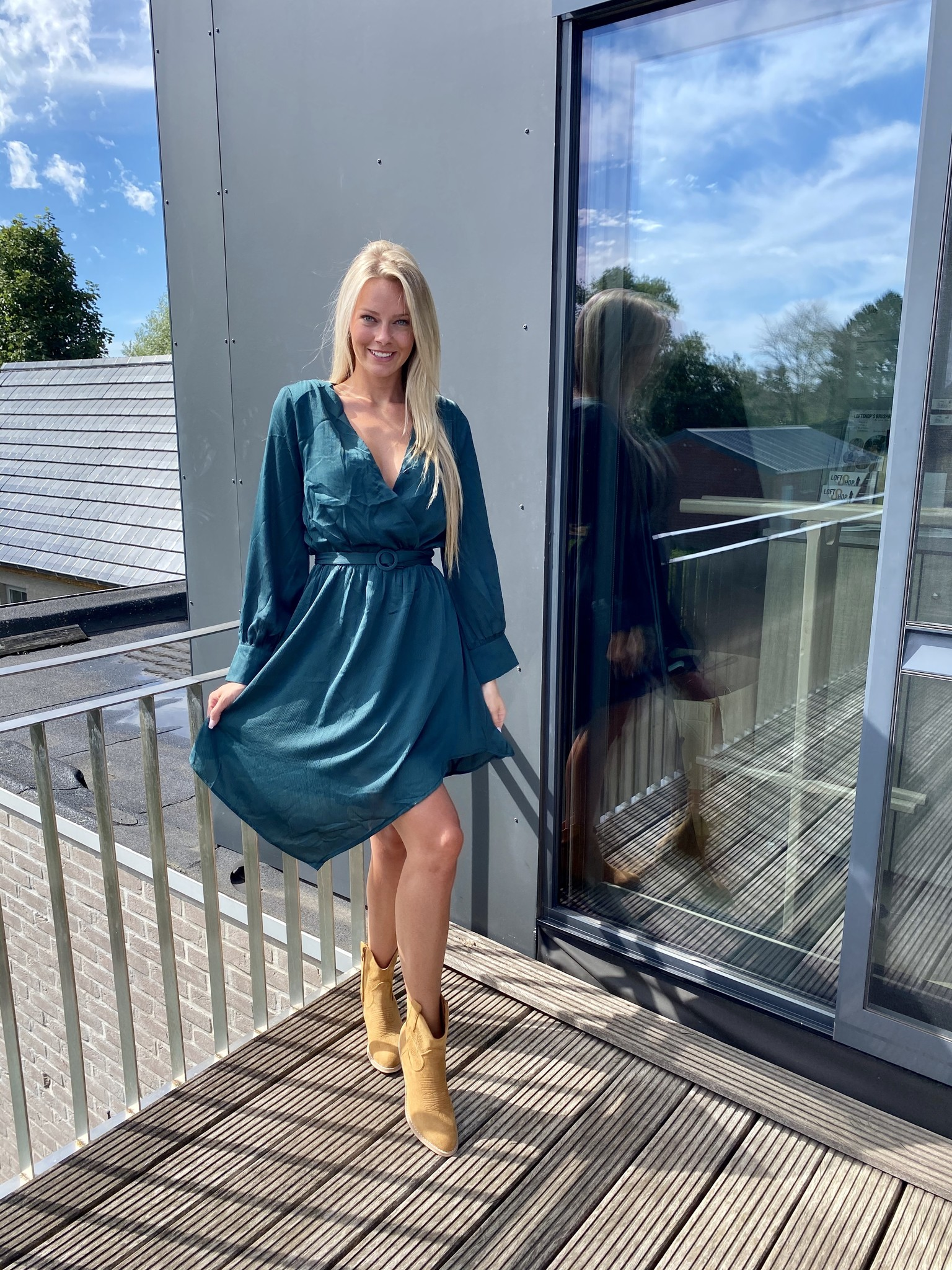 Dress Lizzy Gucci green.