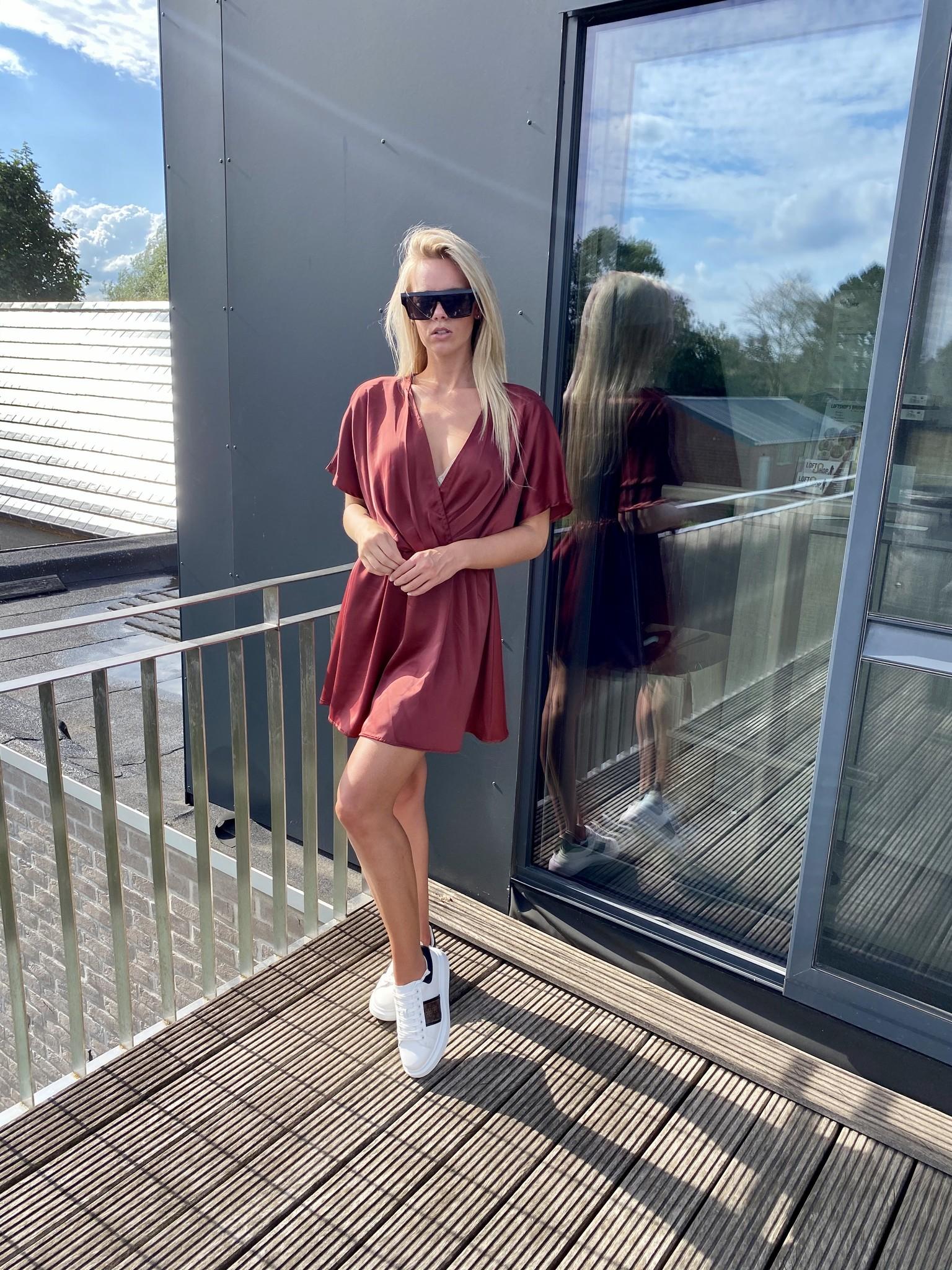 Dress Chloe Winered TU