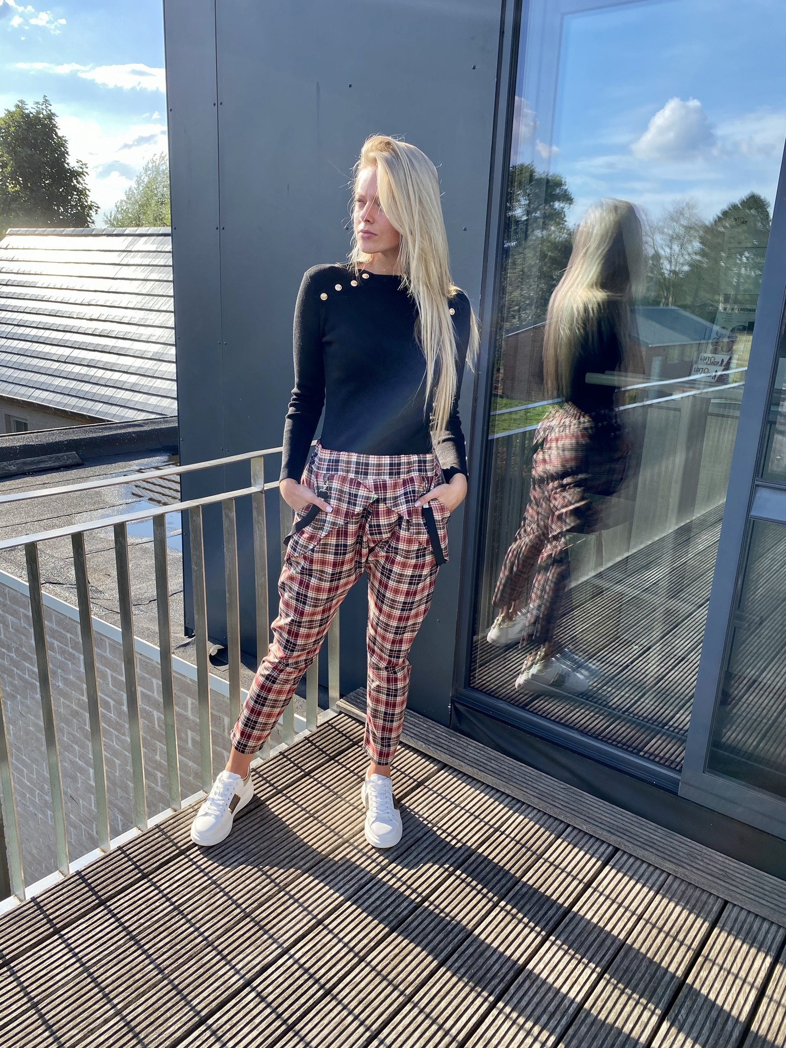 Trousers Lisa Red