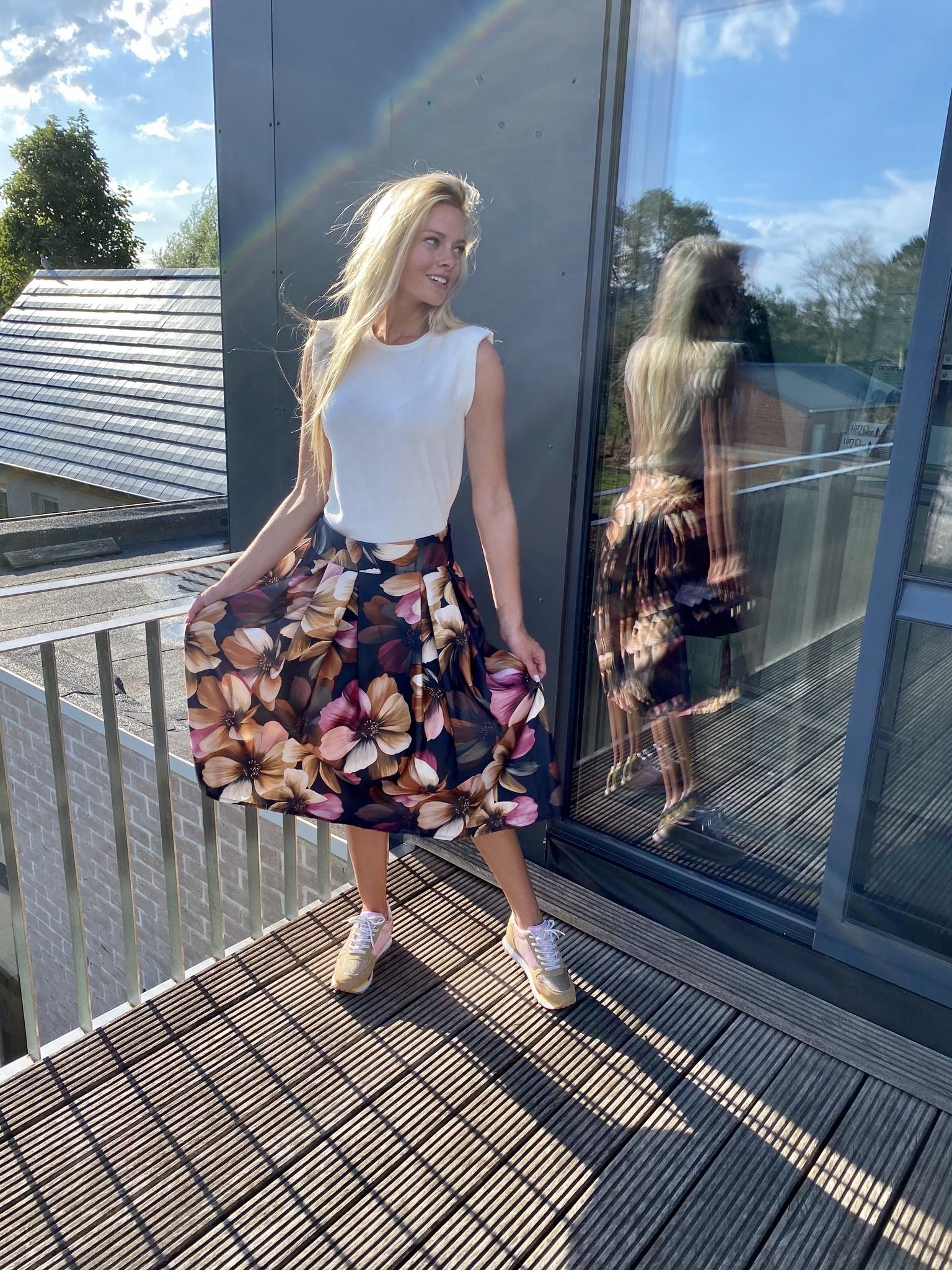 Skirt Donna Black