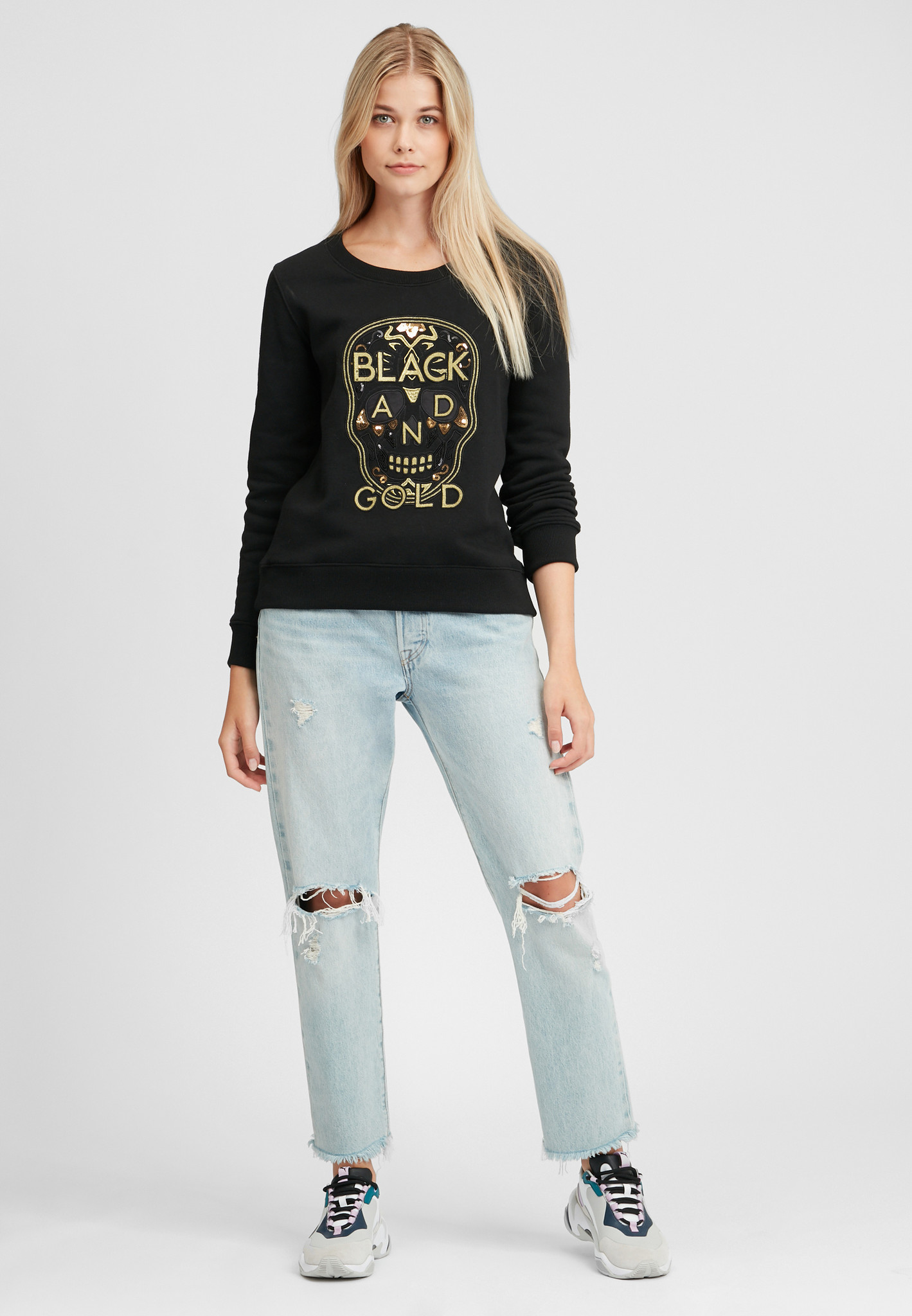 Sweater B&G black