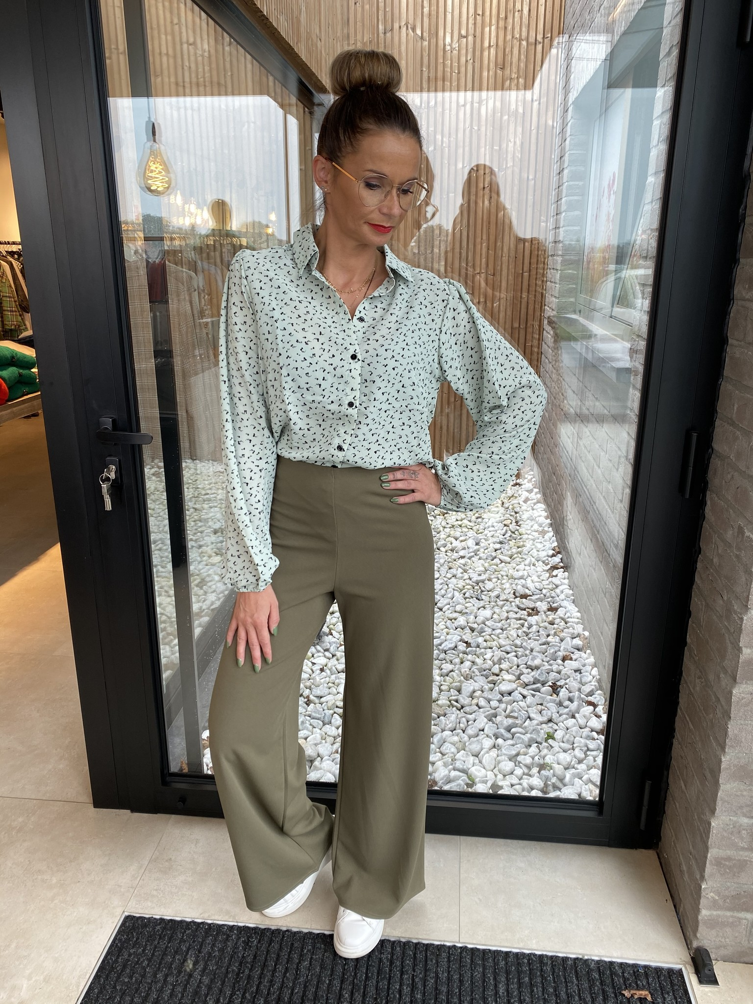 Trousers Lowa Khaki