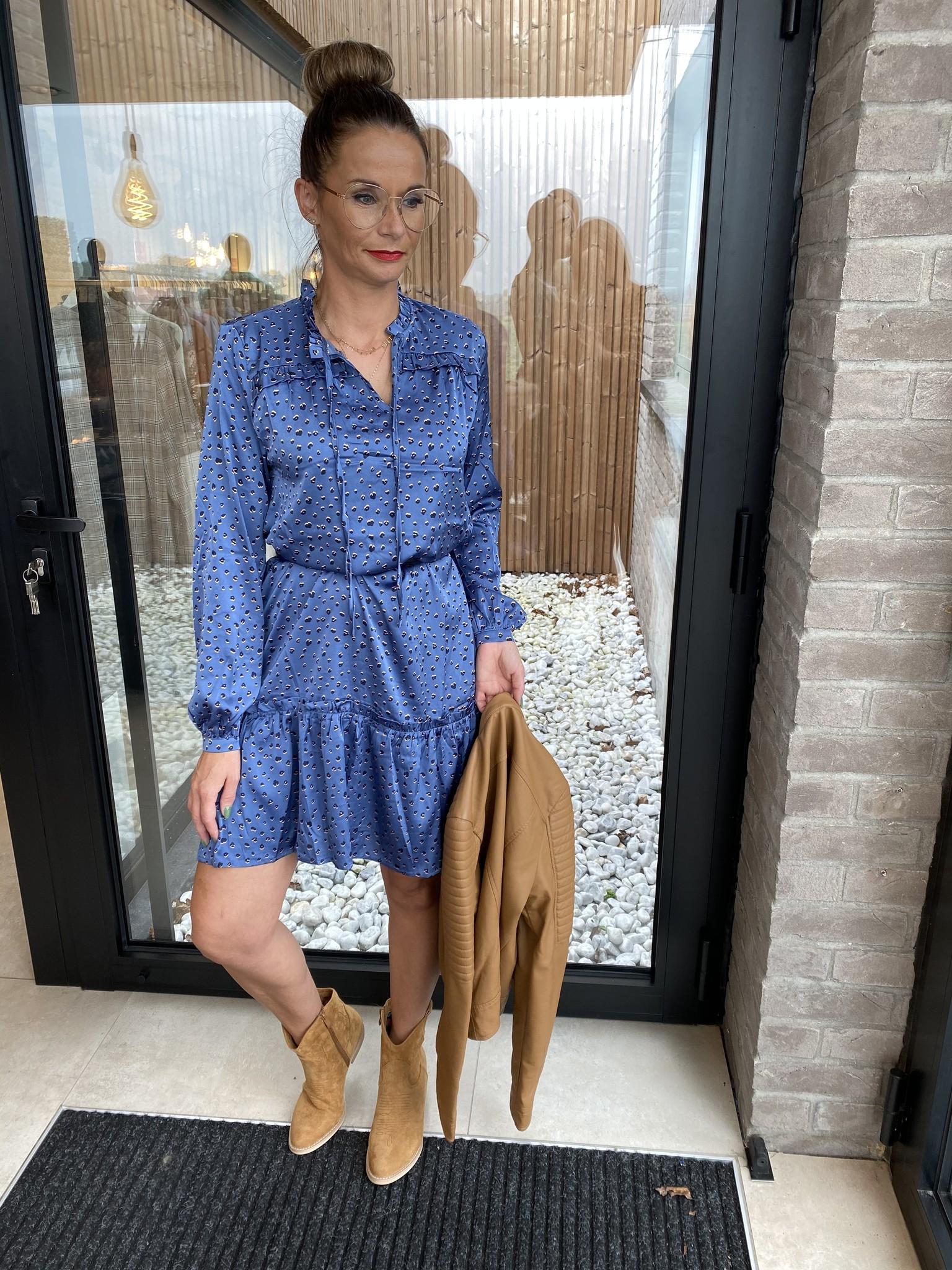 Dress blue cloud/leo