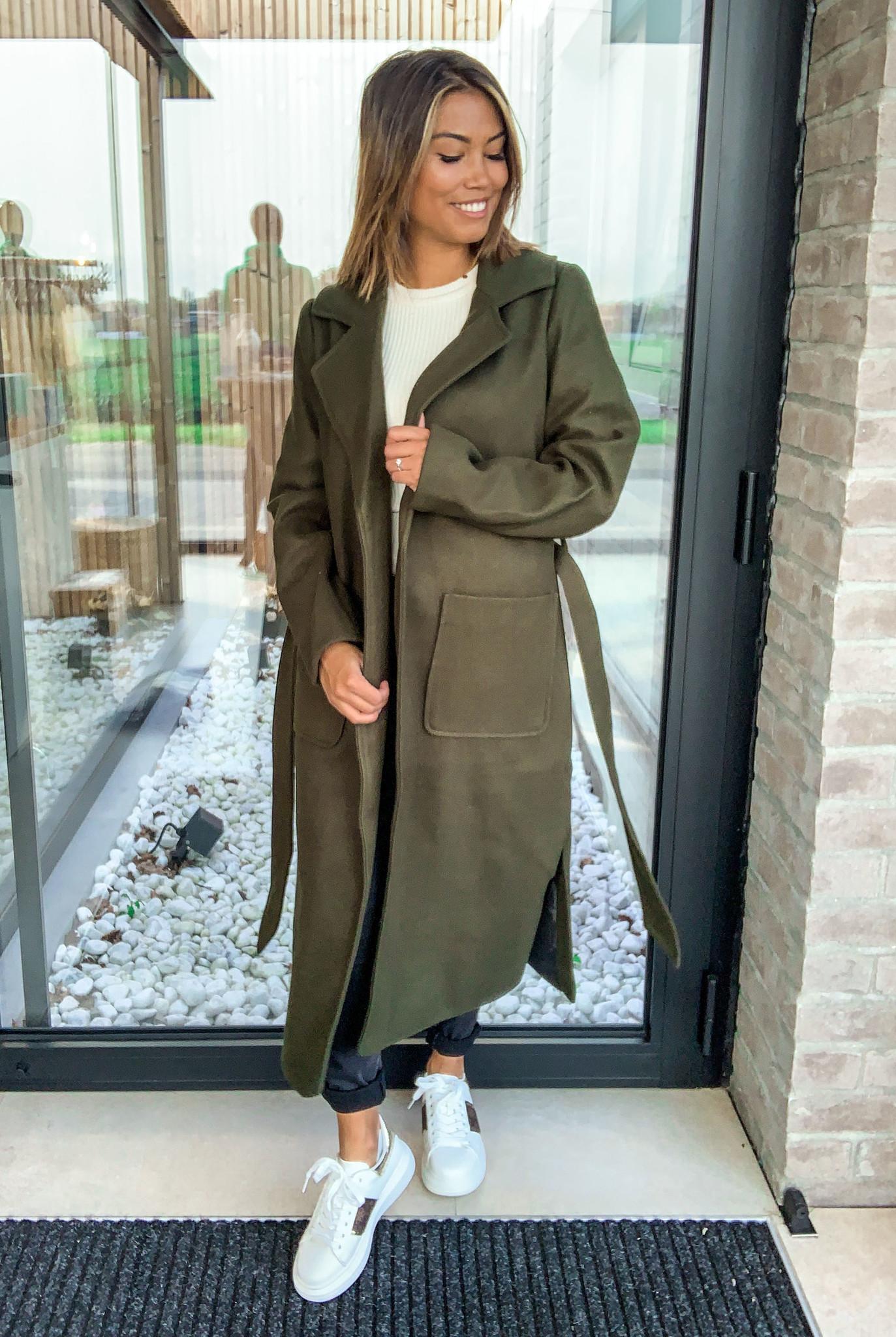Tilda Coat Army Green