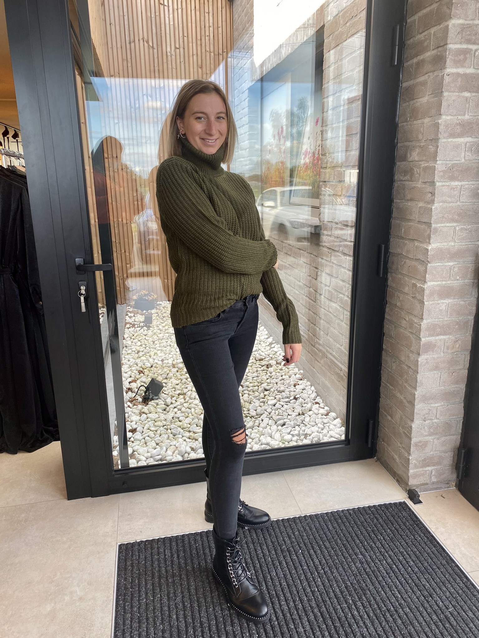 Tinelle Rollneck Army Green