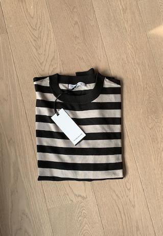 Pull Stripe black beige