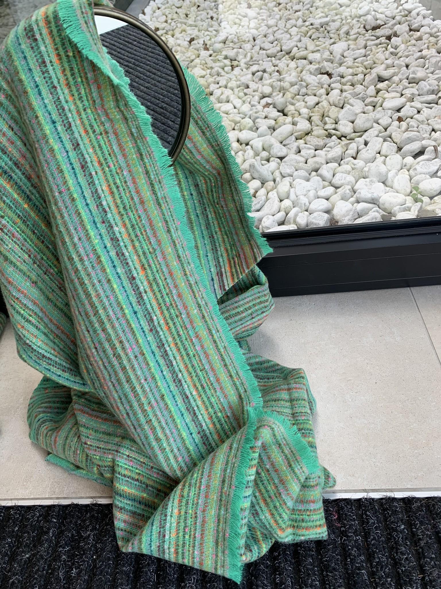 Sjaal Babette green