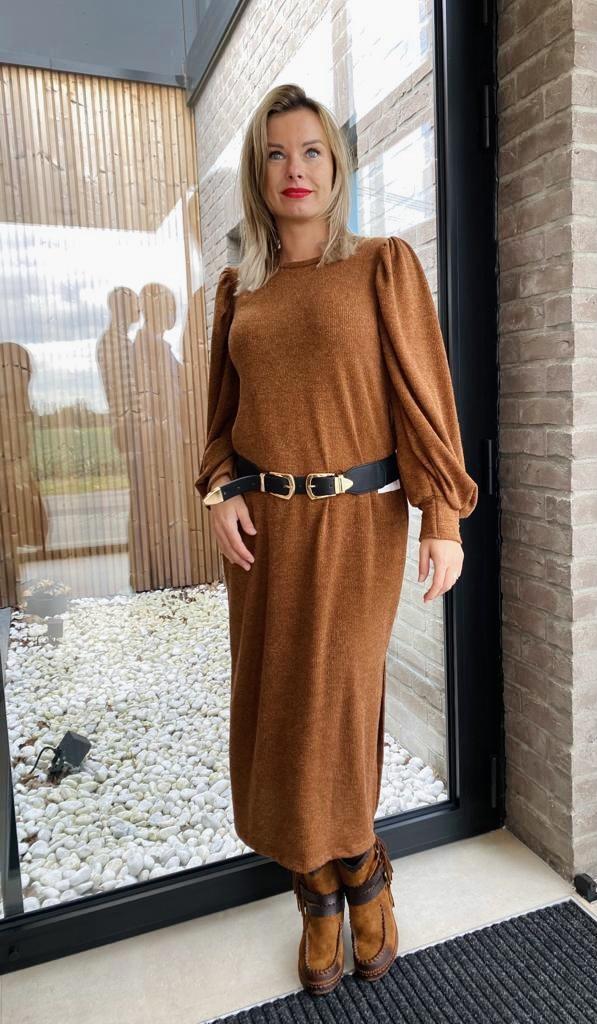 Dress Xenia Long Roest TU