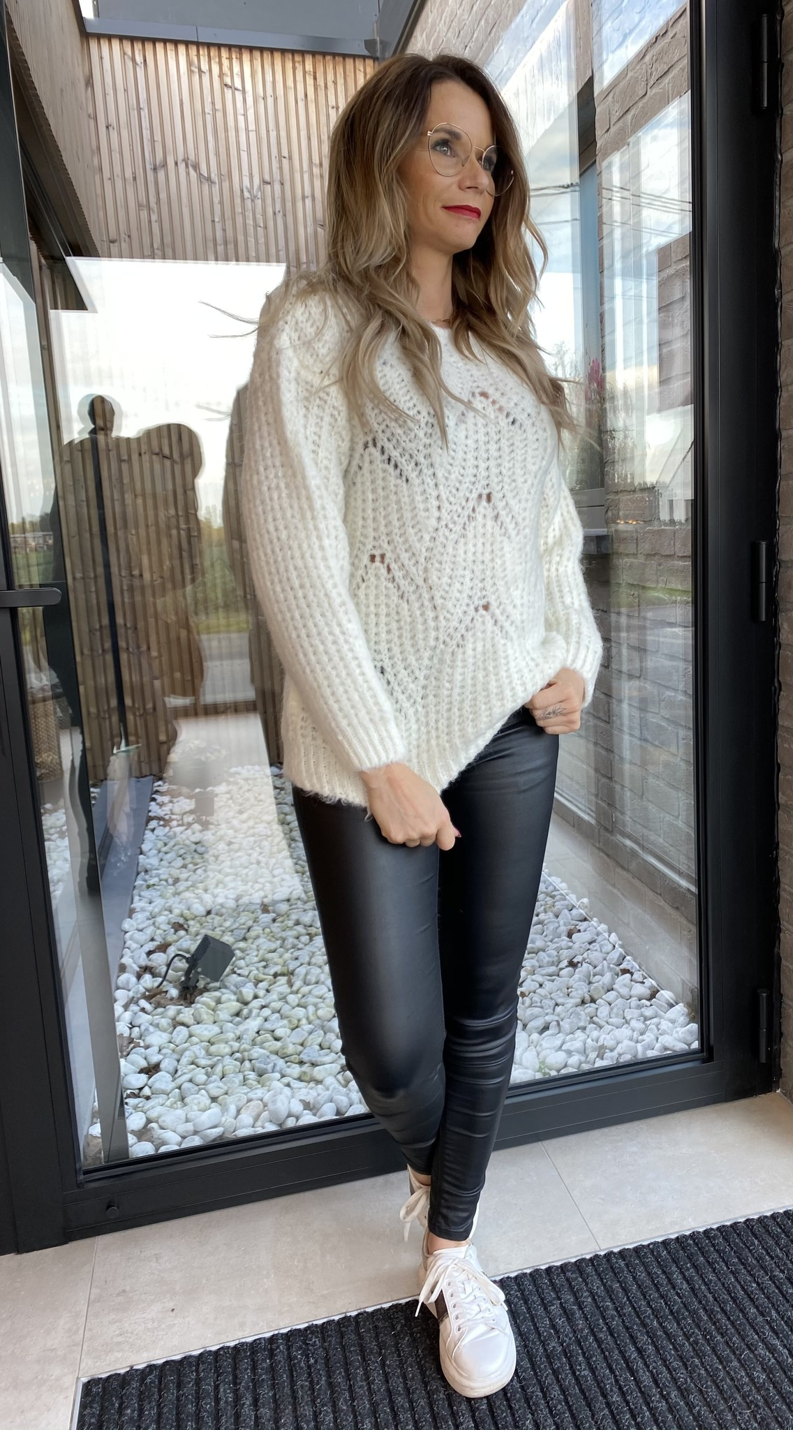 Pull Lizette Boothals Off White TU
