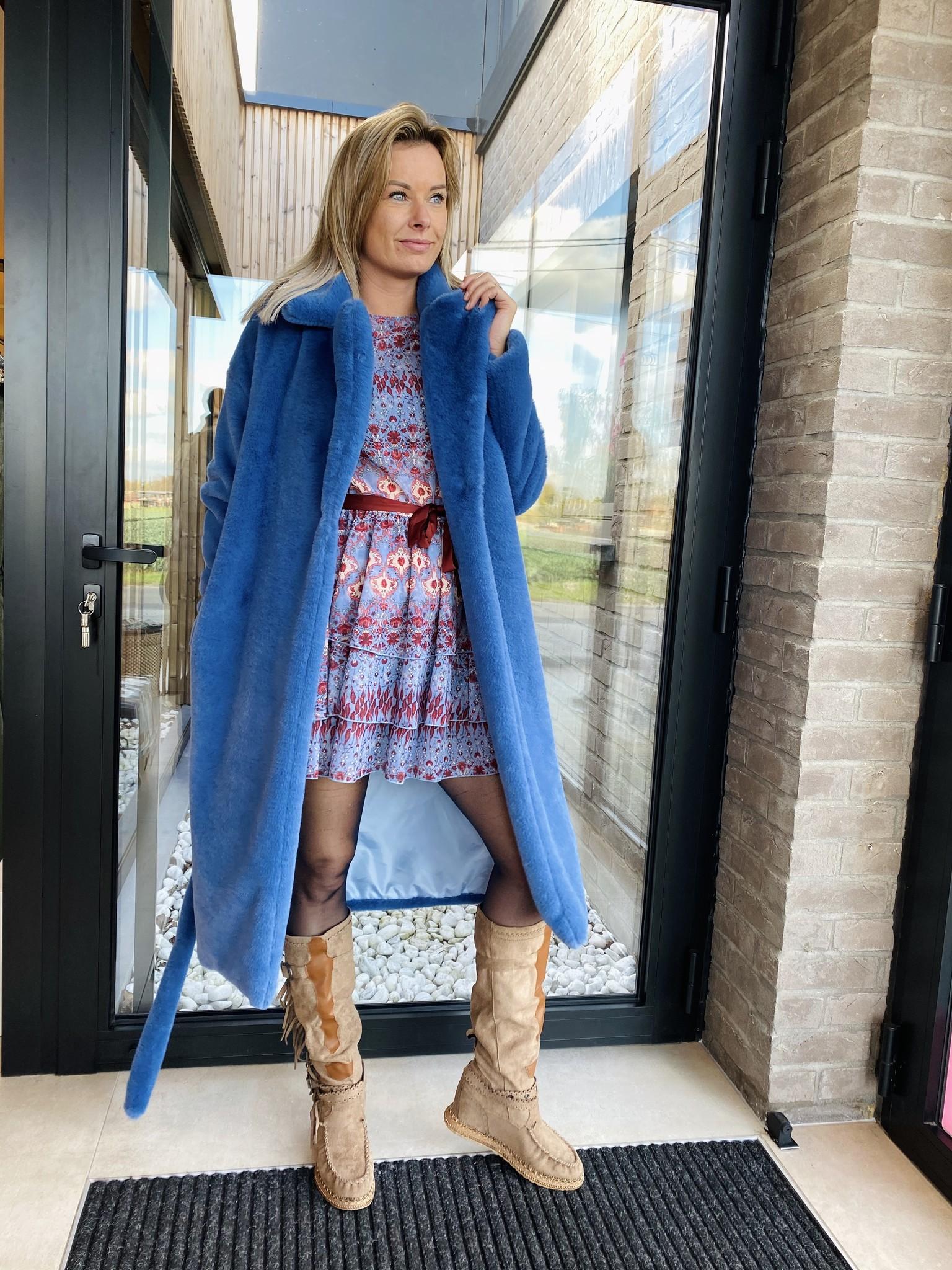 Dress Juliëtte blauw
